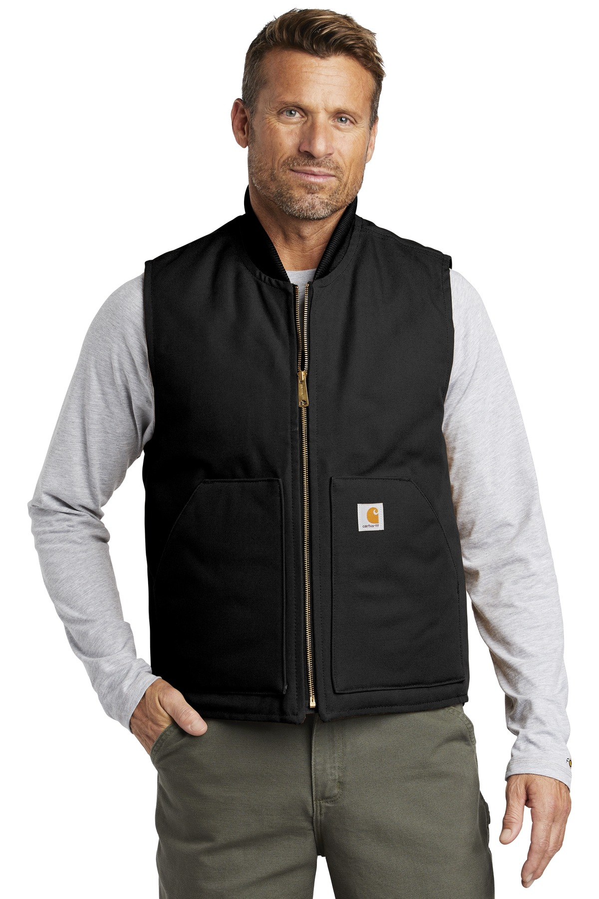 Carhartt  ®  Duck Vest. CTV01 - Black