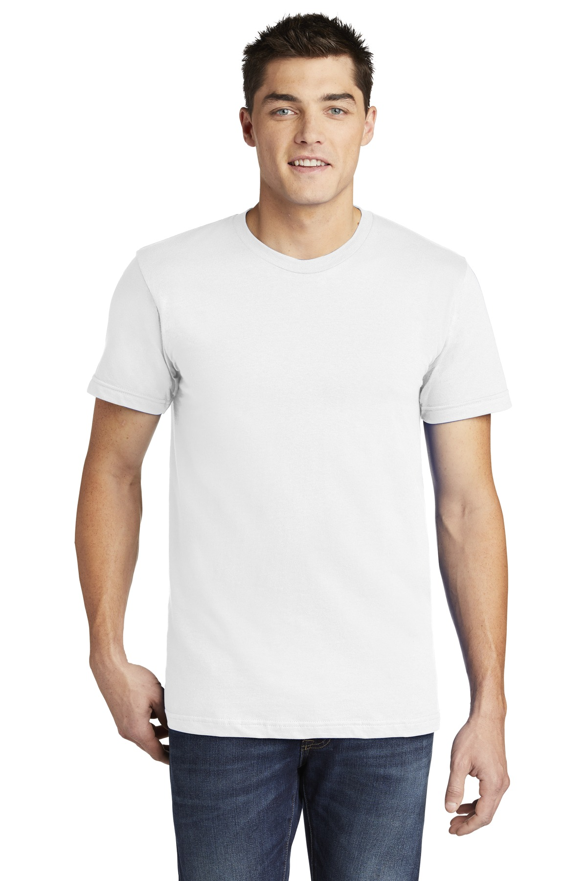 American Apparel  ®  USA Collection Fine Jersey T-Shirt. 2001A - White