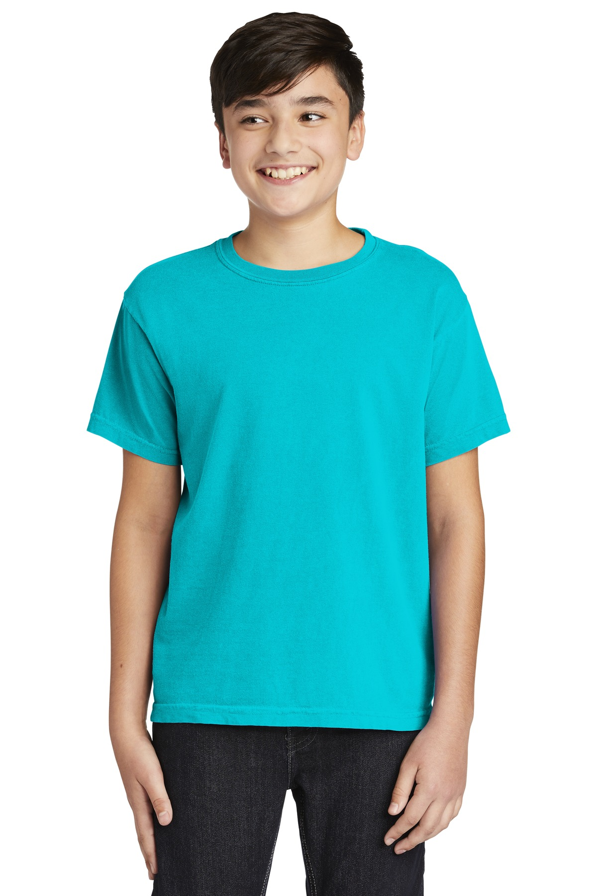 COMFORT COLORS  ®  Youth Midweight Ring Spun Tee. 9018 - Lagoon