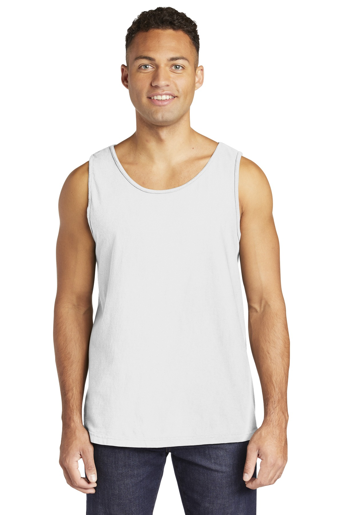 COMFORT COLORS  ®  Heavyweight Ring Spun Tank Top. 9360 - White