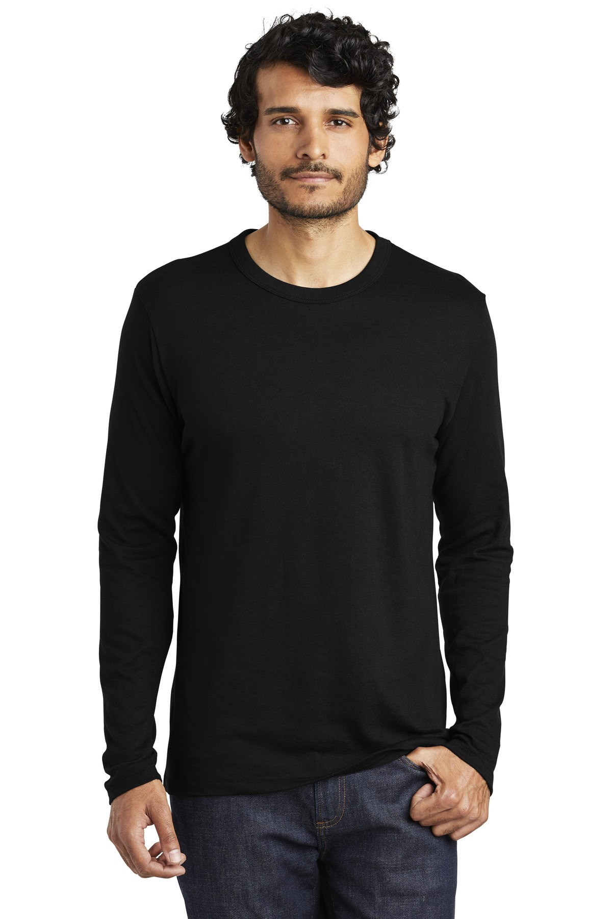 Alternative The Keeper Vintage 50/50 Long Sleeve Tee. AA5100 - Black