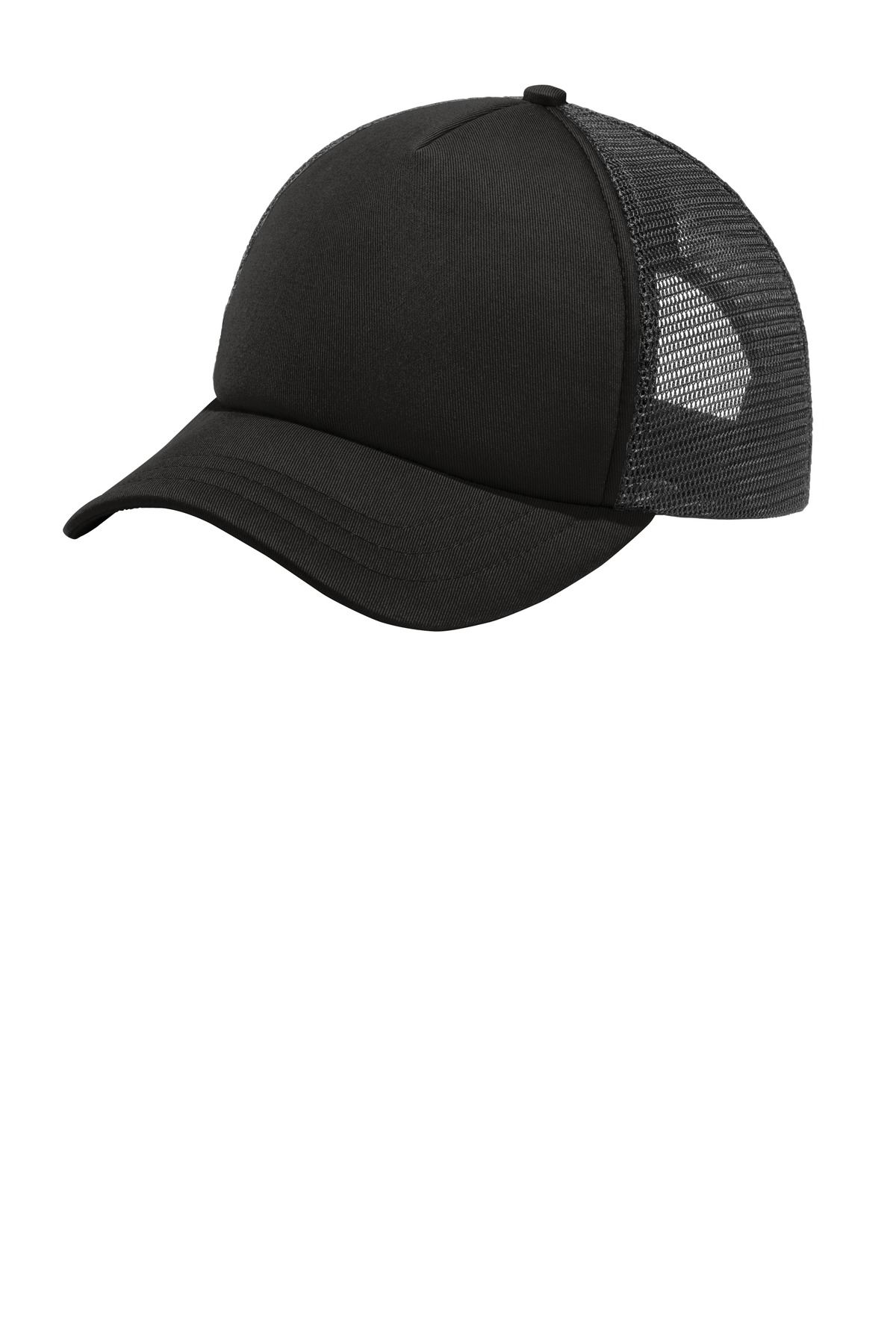 Port Authority 5-Panel Twill Foam Trucker Cap. C936