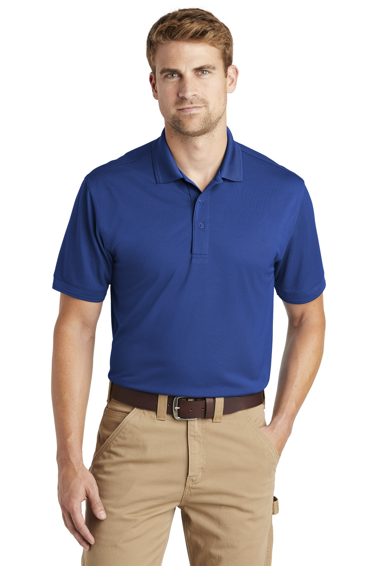 CornerStone  ®  Industrial Snag-Proof Pique Polo. CS4020 - Royal