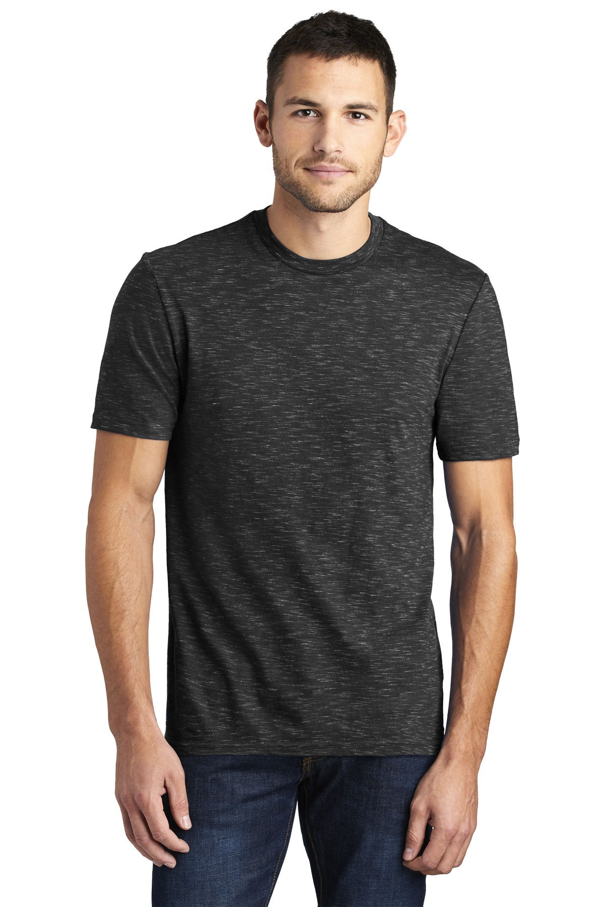 District  ®  Medal Tee. DT564 - Black