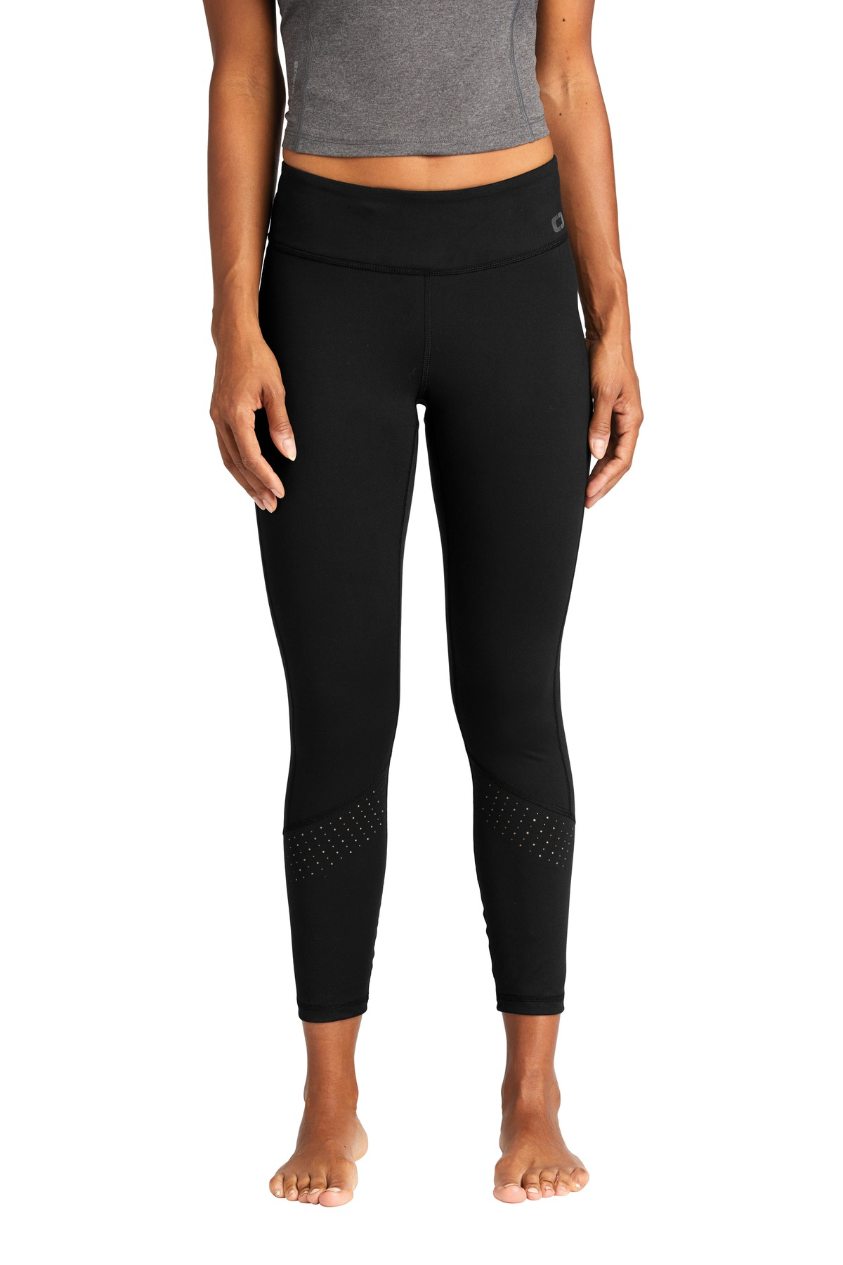 OGIO  ®  ENDURANCE Ladies Laser Tech Legging. LOE402 - Blacktop