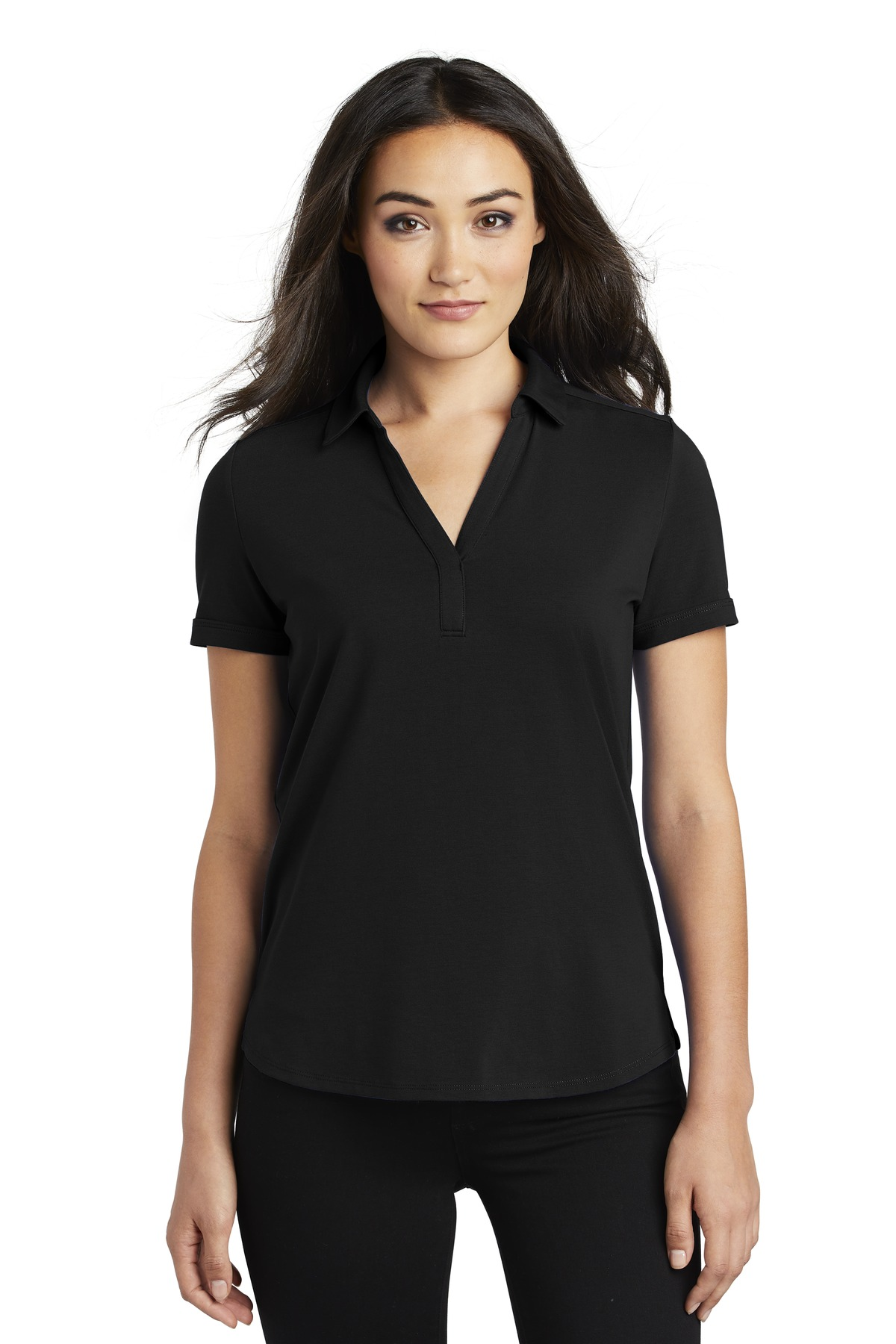 OGIO  ®  Ladies Limit Polo. LOG138 - Blacktop