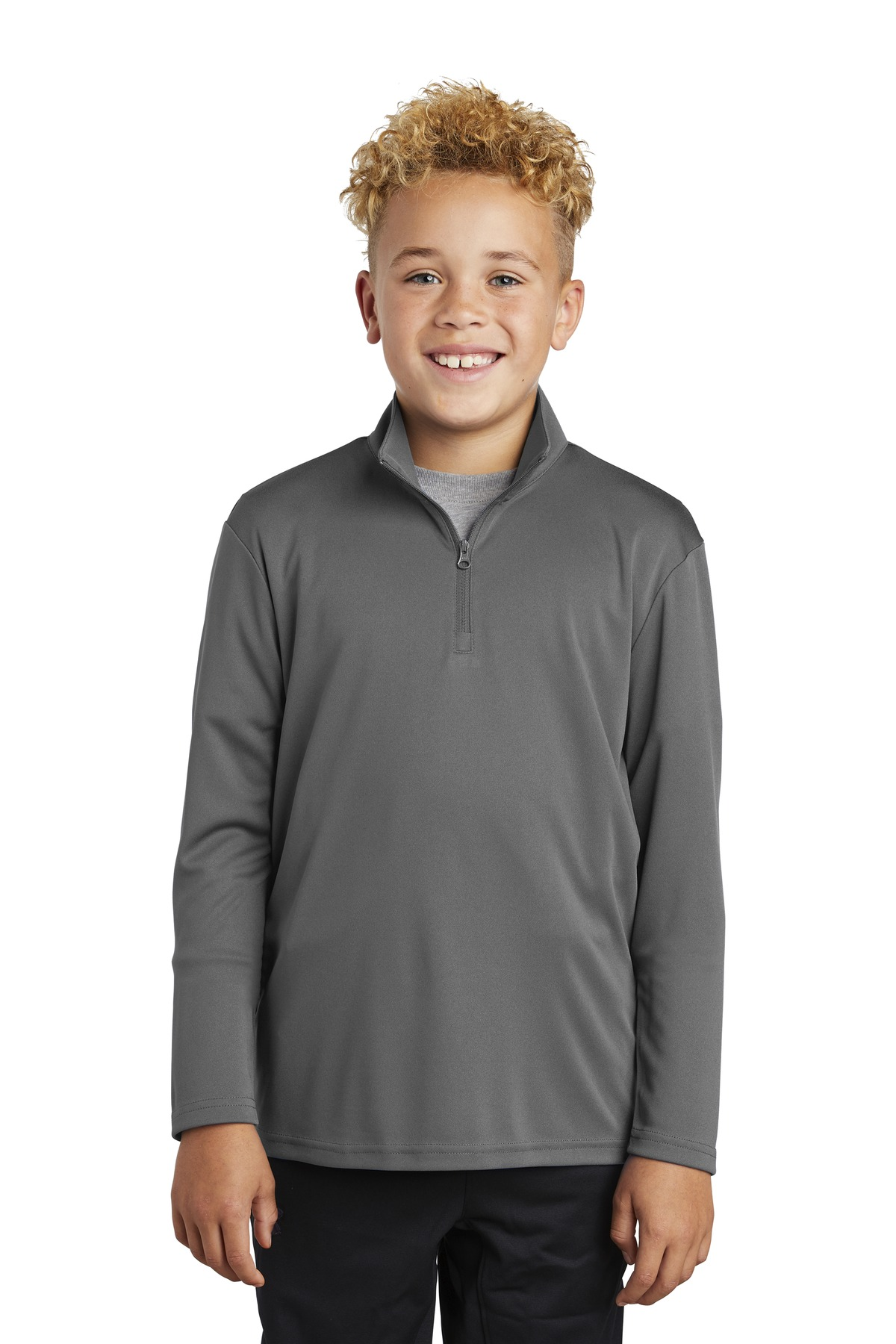 Sport-Tek Youth PosiCharge Competitor 1/4-Zip Pullover. YST357