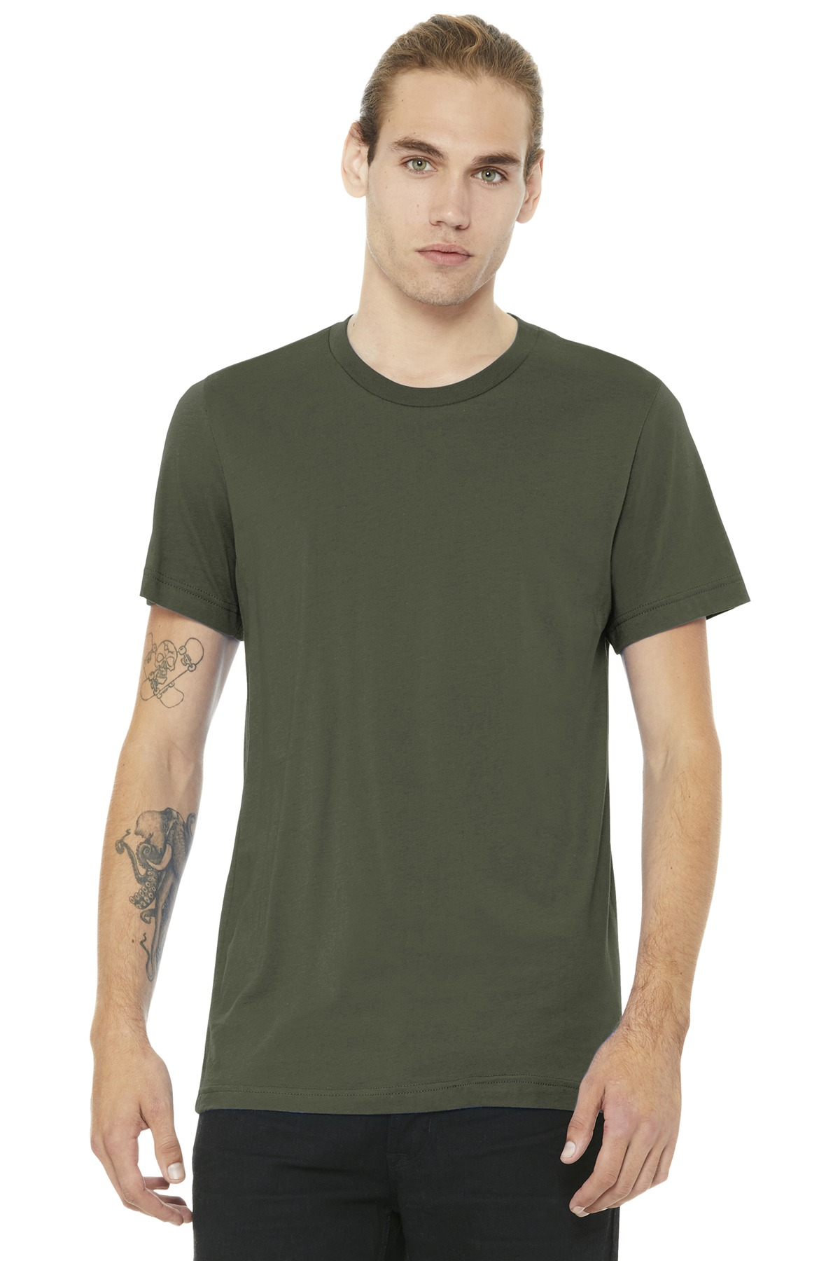 BELLA+CANVAS  ®  Unisex Jersey Short Sleeve Tee. BC3001 - Army
