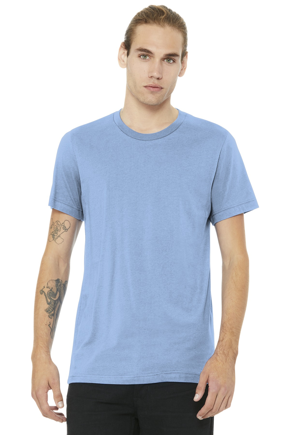 BELLA+CANVAS  ®  Unisex Jersey Short Sleeve Tee. BC3001 - Baby Blue