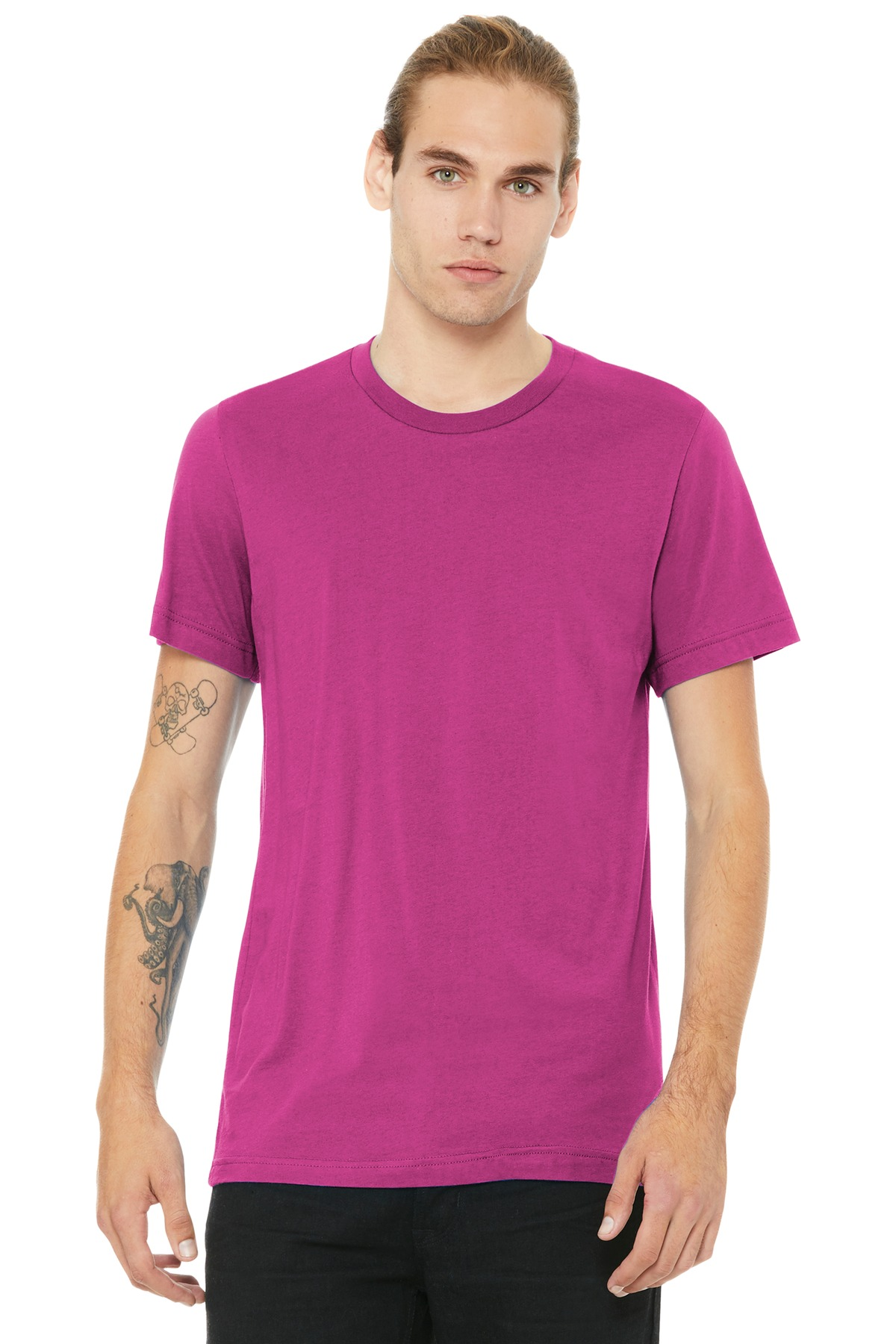 BELLA+CANVAS  ®  Unisex Jersey Short Sleeve Tee. BC3001 - Berry