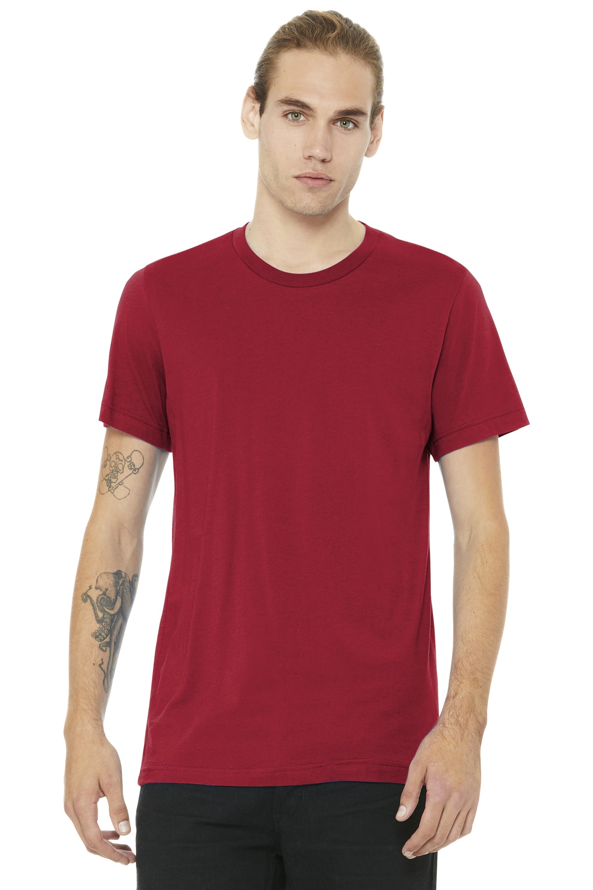 BELLA+CANVAS  ®  Unisex Jersey Short Sleeve Tee. BC3001 - Canvas Red