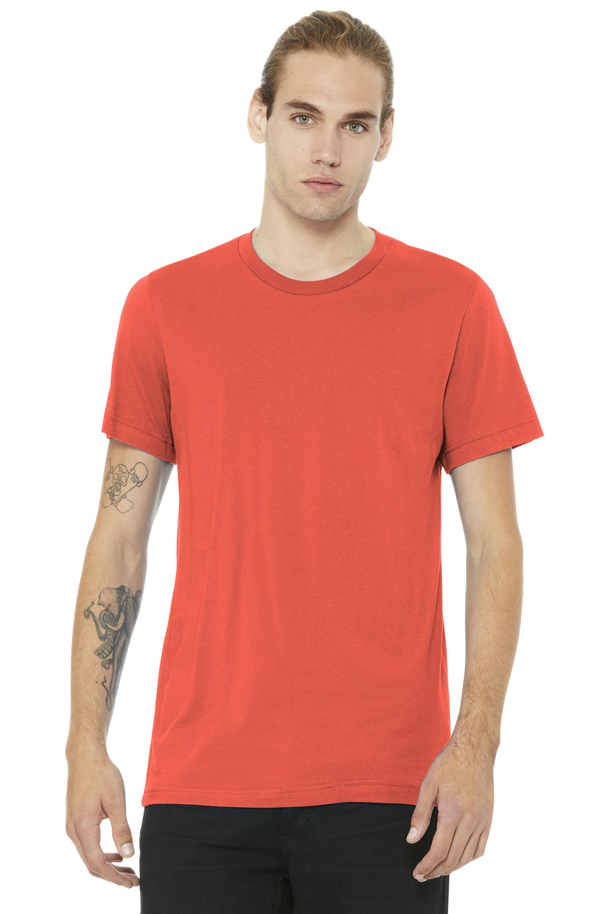 BELLA+CANVAS  ®  Unisex Jersey Short Sleeve Tee. BC3001 - Coral