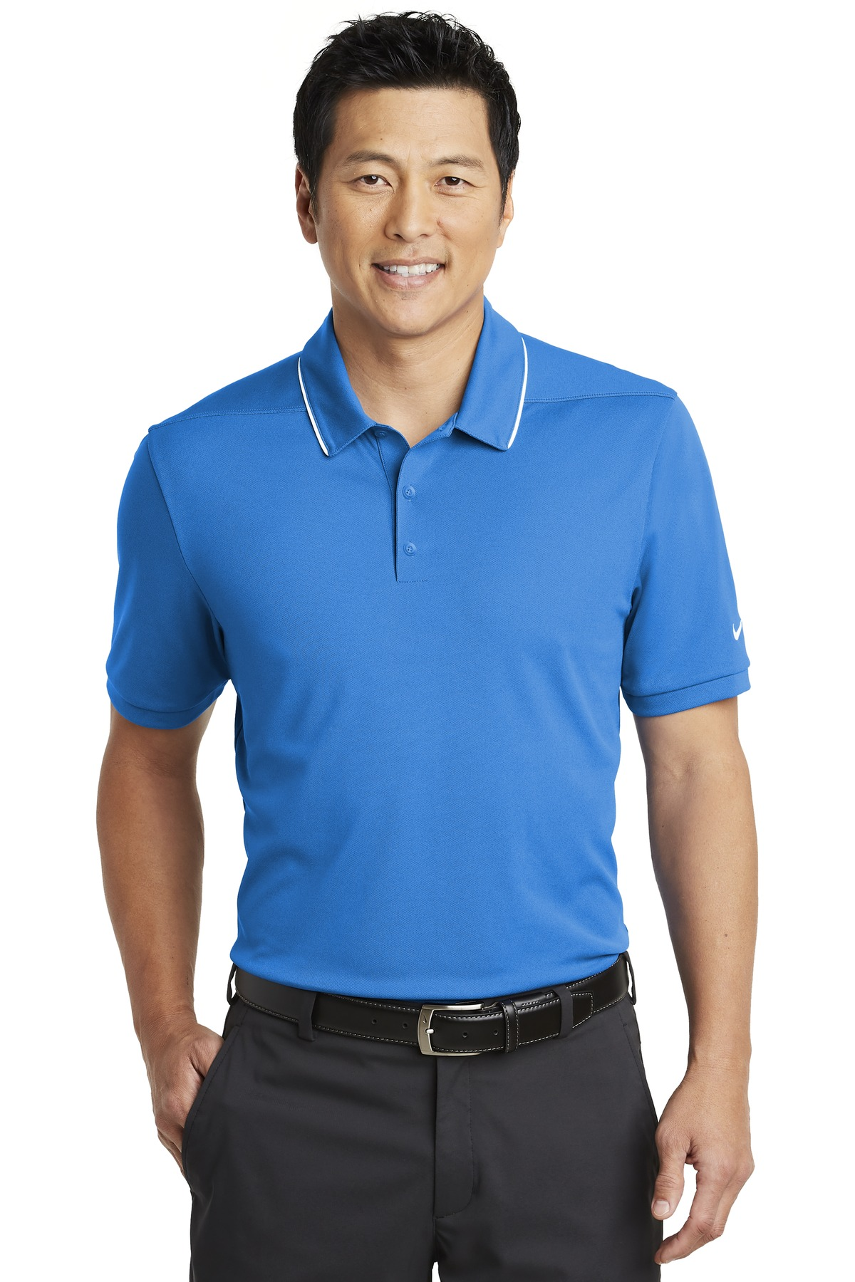 Nike Dri-FIT Edge Tipped Polo. NKAA1849