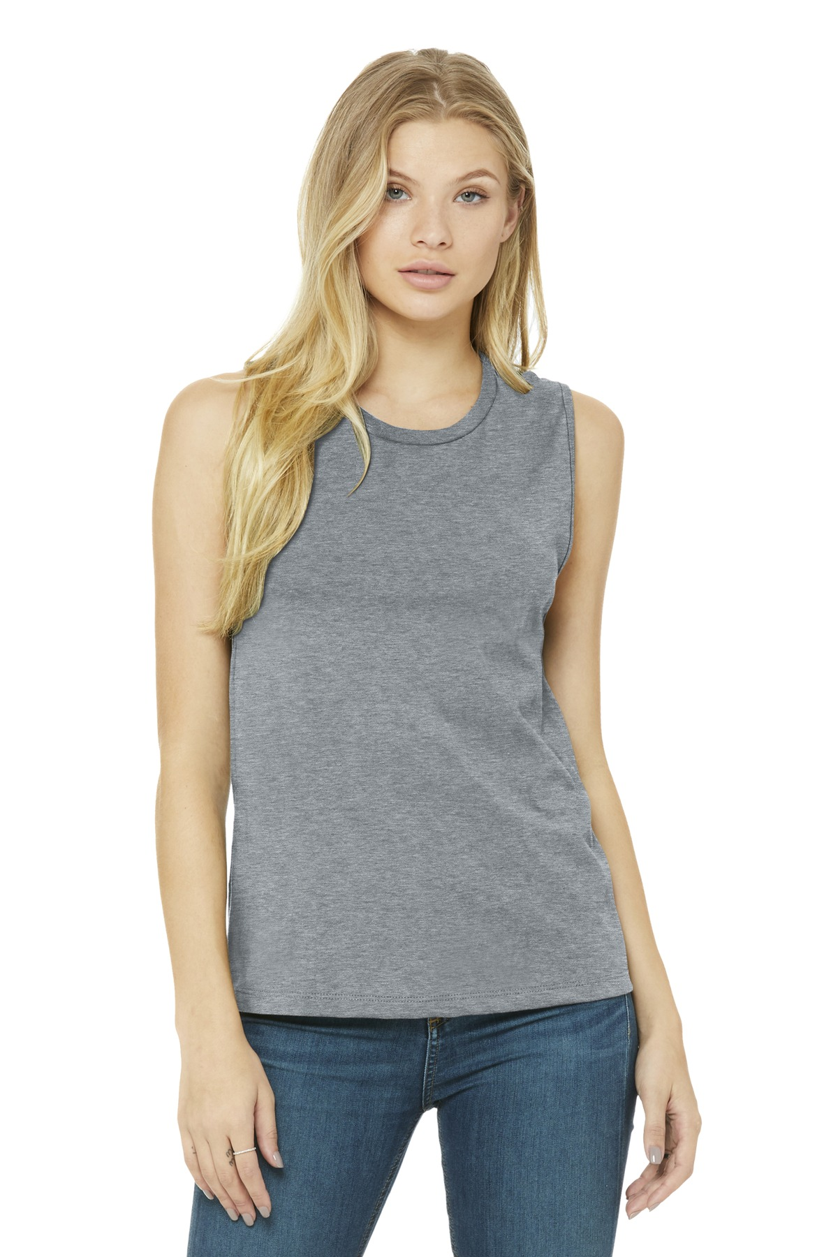 BELLA+CANVAS  ®  Women's Jersey Muscle Tank. BC6003 - Athletic Heather