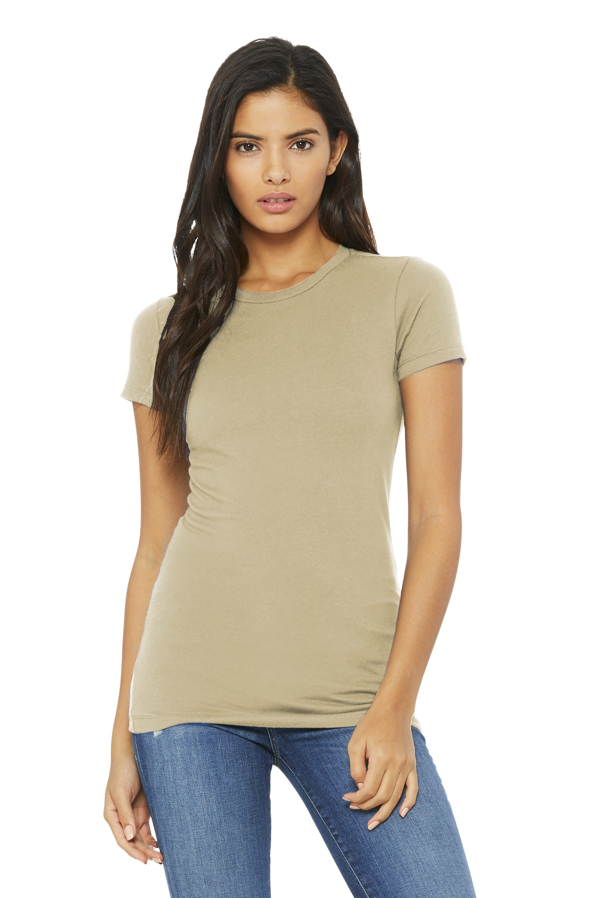 BELLA+CANVAS  ®  Women's The Favorite Tee. BC6004 - Soft Cream