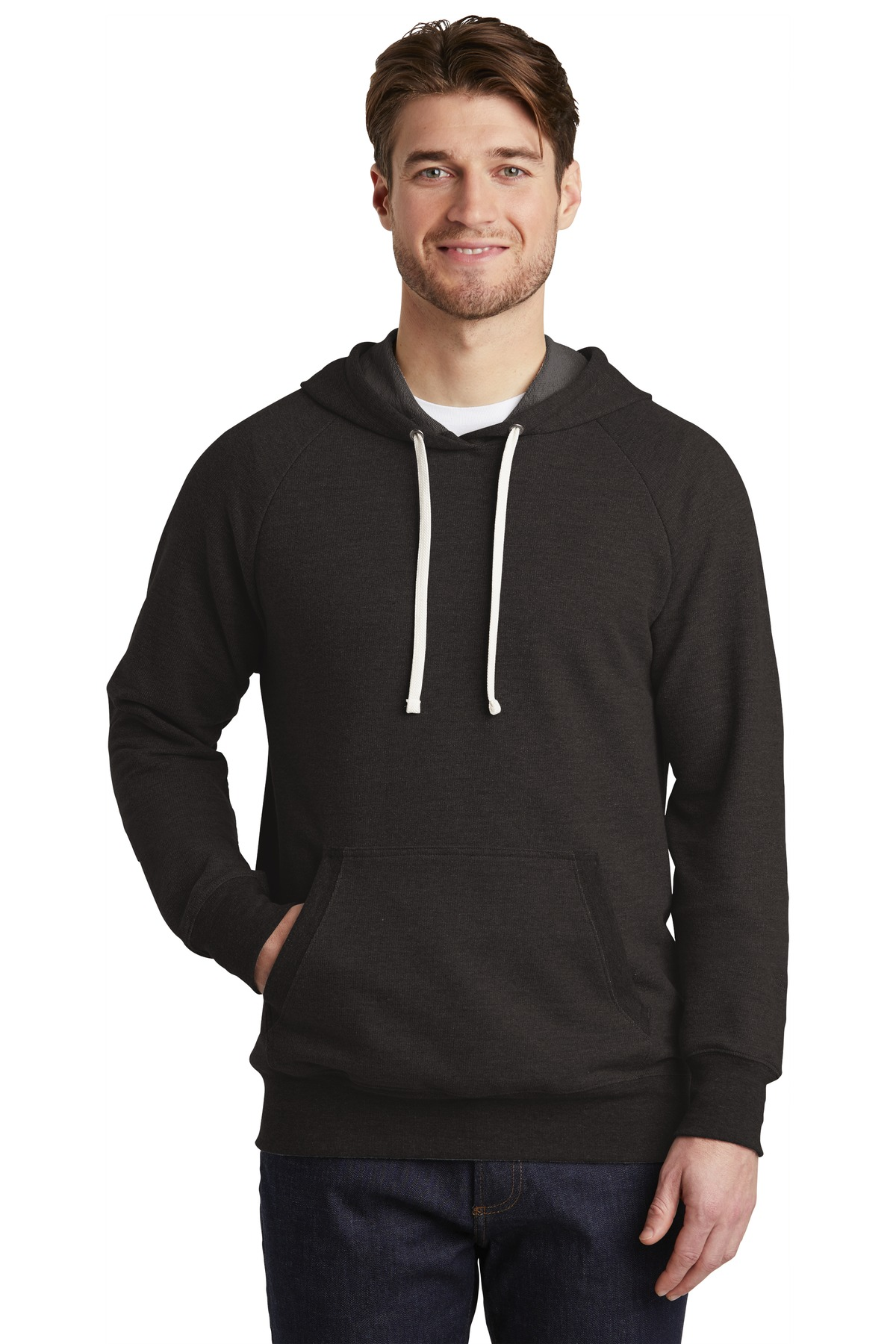 District  ®  Perfect Tri  ®  French Terry Hoodie. DT355 - Black