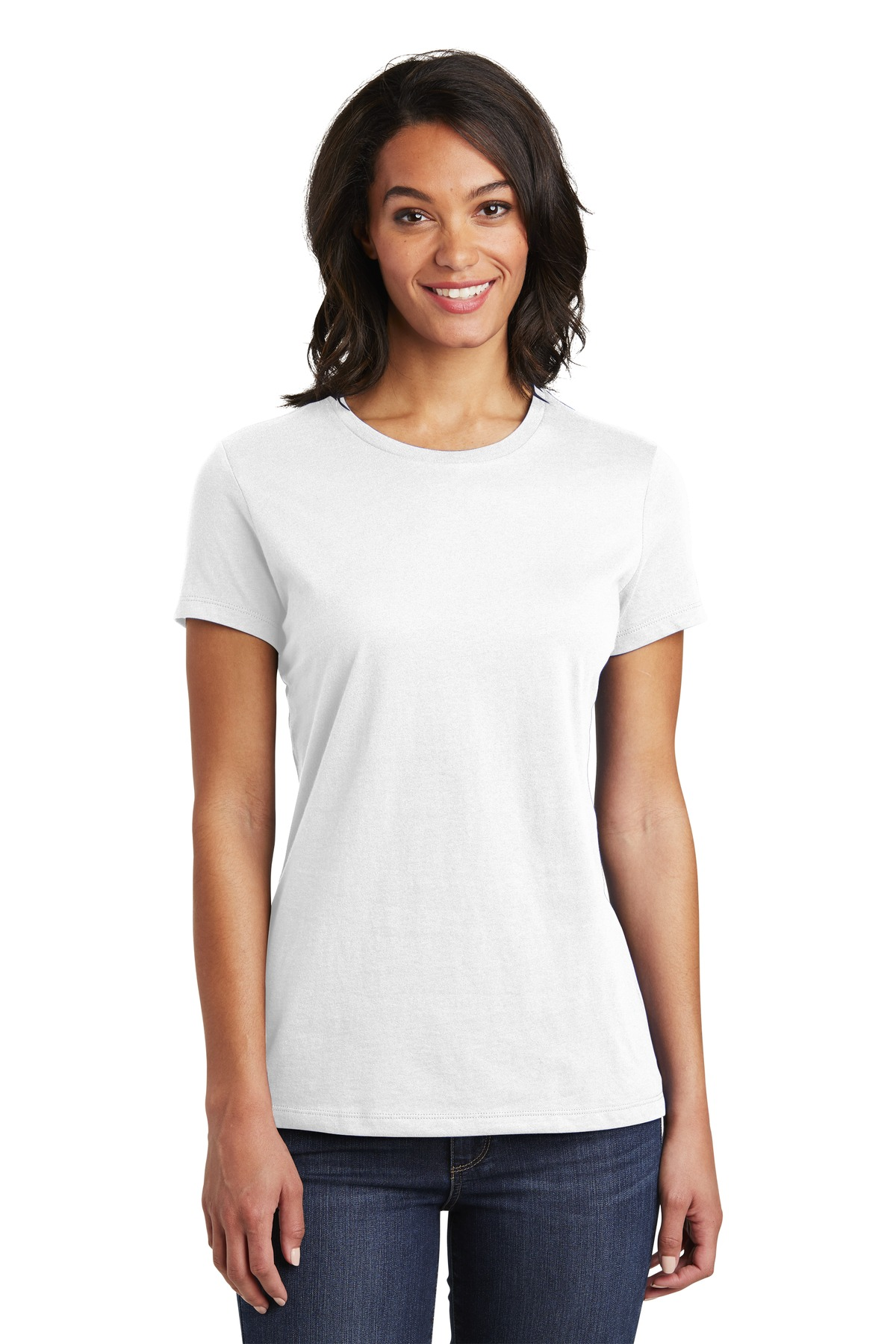 District  ®  Women's Very Important Tee  ®  . DT6002 - White