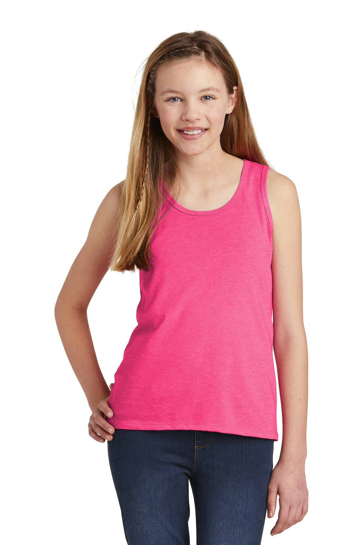 District  ®  Girls V.I.T.  ™  Tank. DT6303YG - Fuchsia Frost