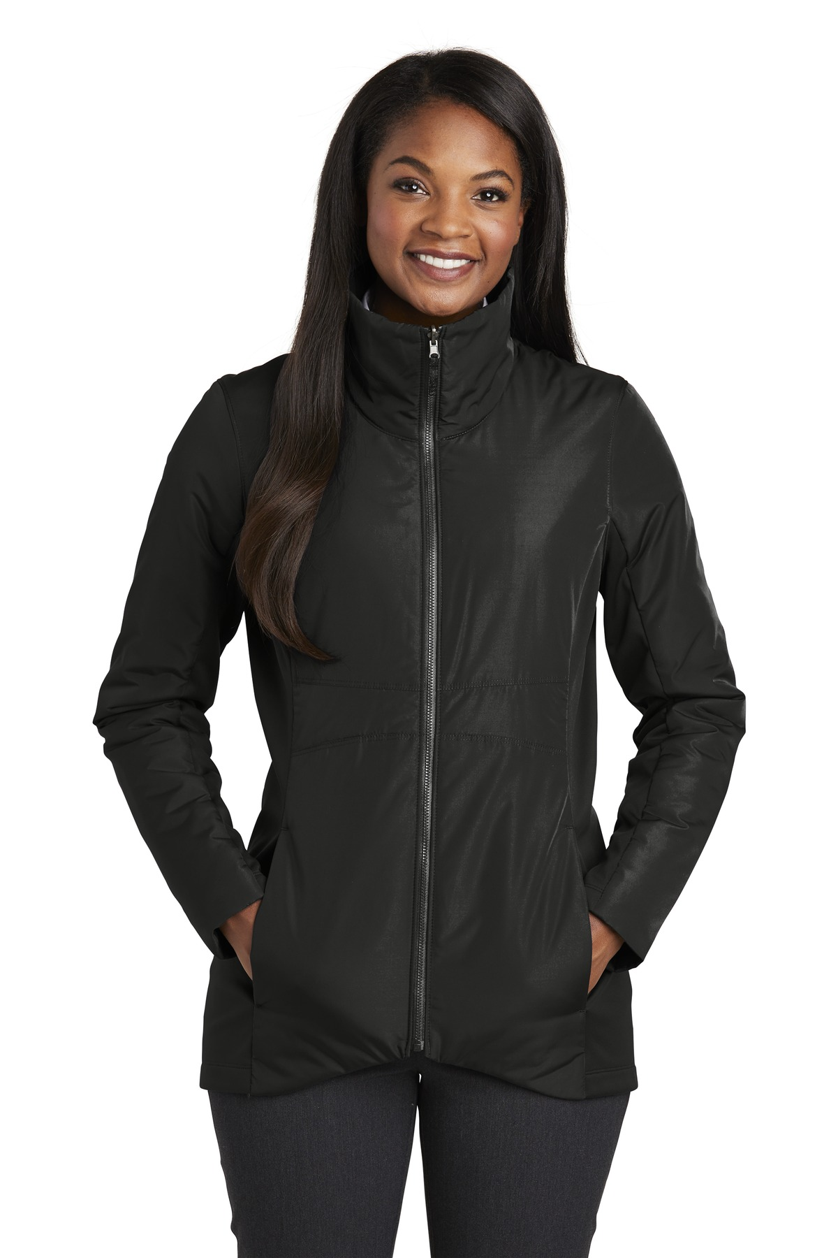 Port Authority  ®  Ladies Collective Insulated Jacket. L902 - Deep Black