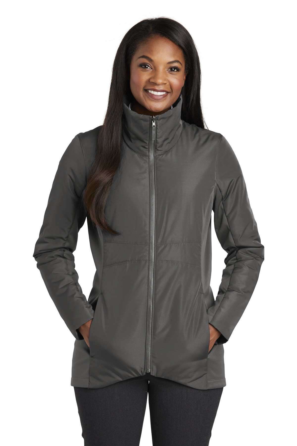 Port Authority  ®  Ladies Collective Insulated Jacket. L902 - Graphite