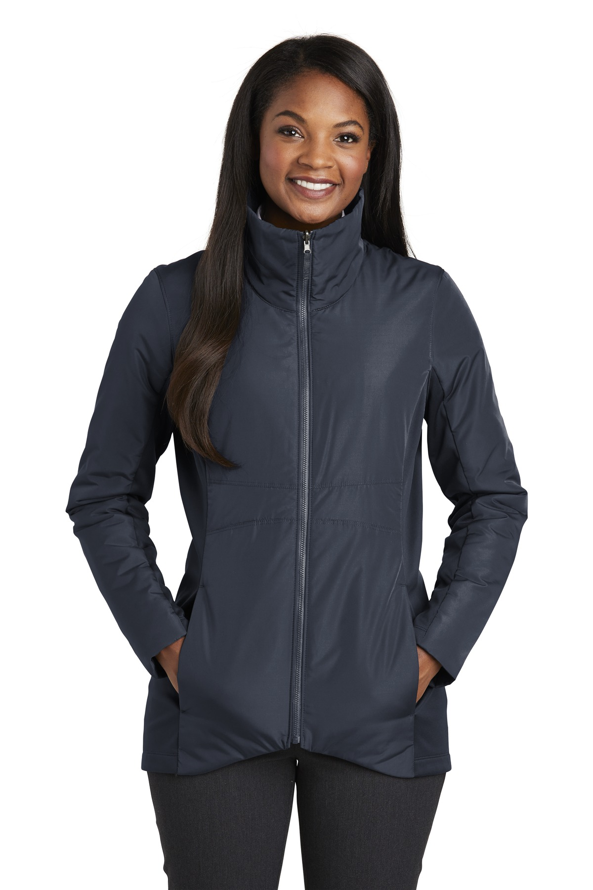 Port Authority  ®  Ladies Collective Insulated Jacket. L902 - River Blue Navy