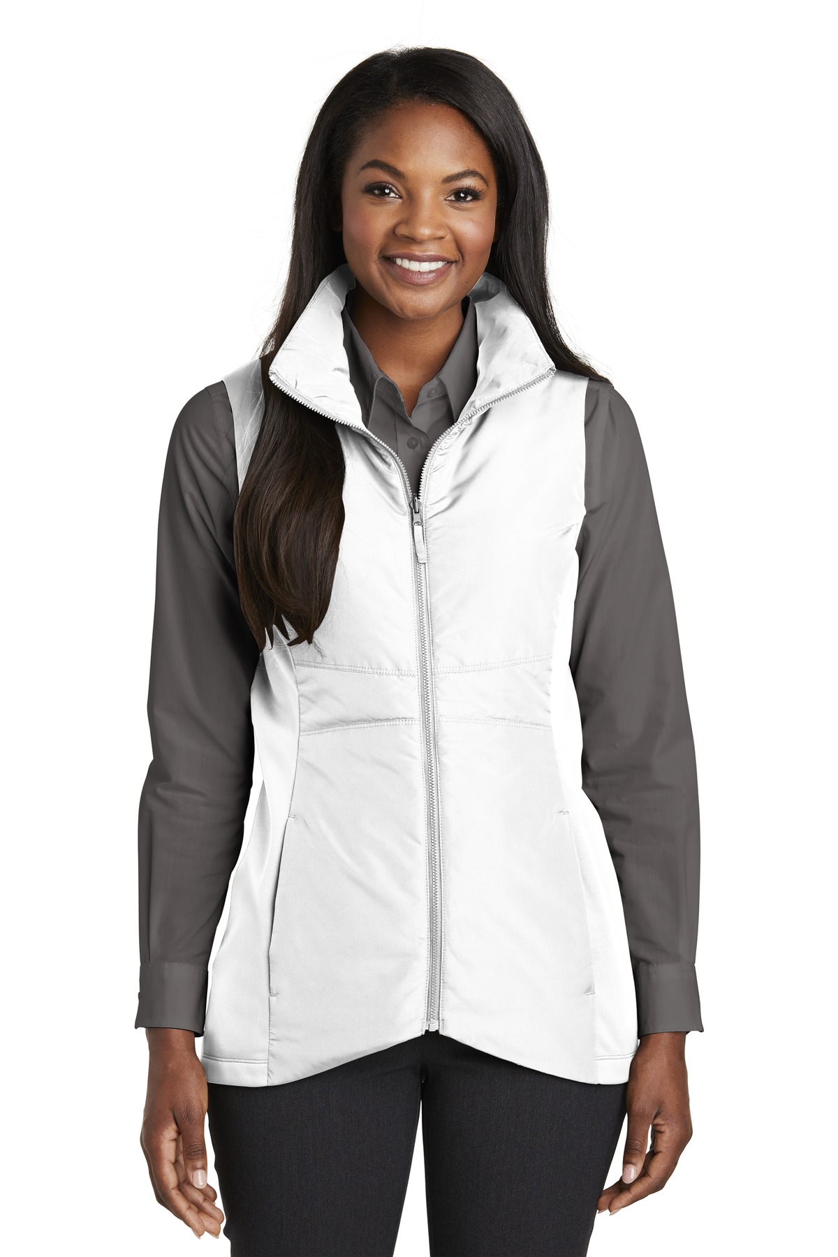 Port Authority  ®  Ladies Collective Insulated Vest. L903 - White