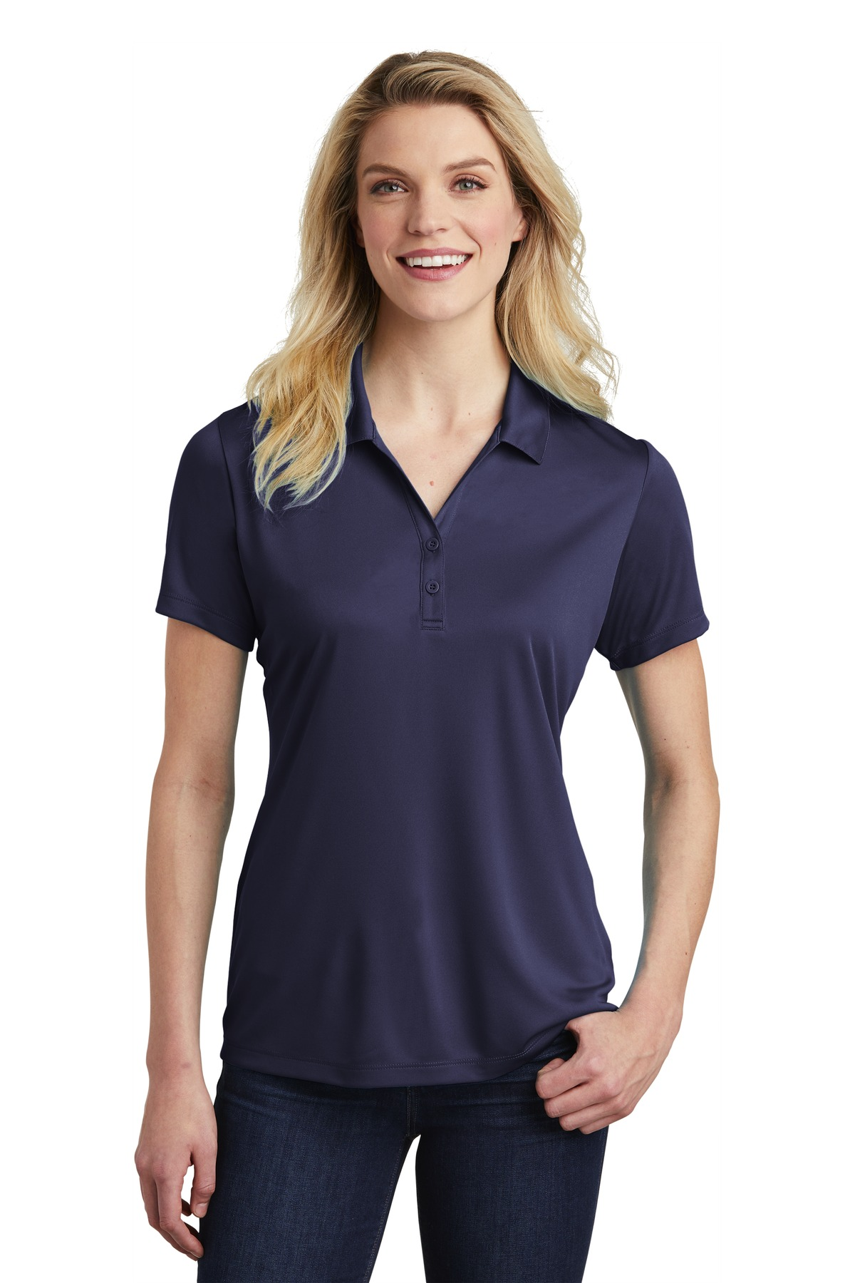 Sport-Tek  ®  Ladies PosiCharge  ®  Competitor  ™  Polo. LST550 - True Navy