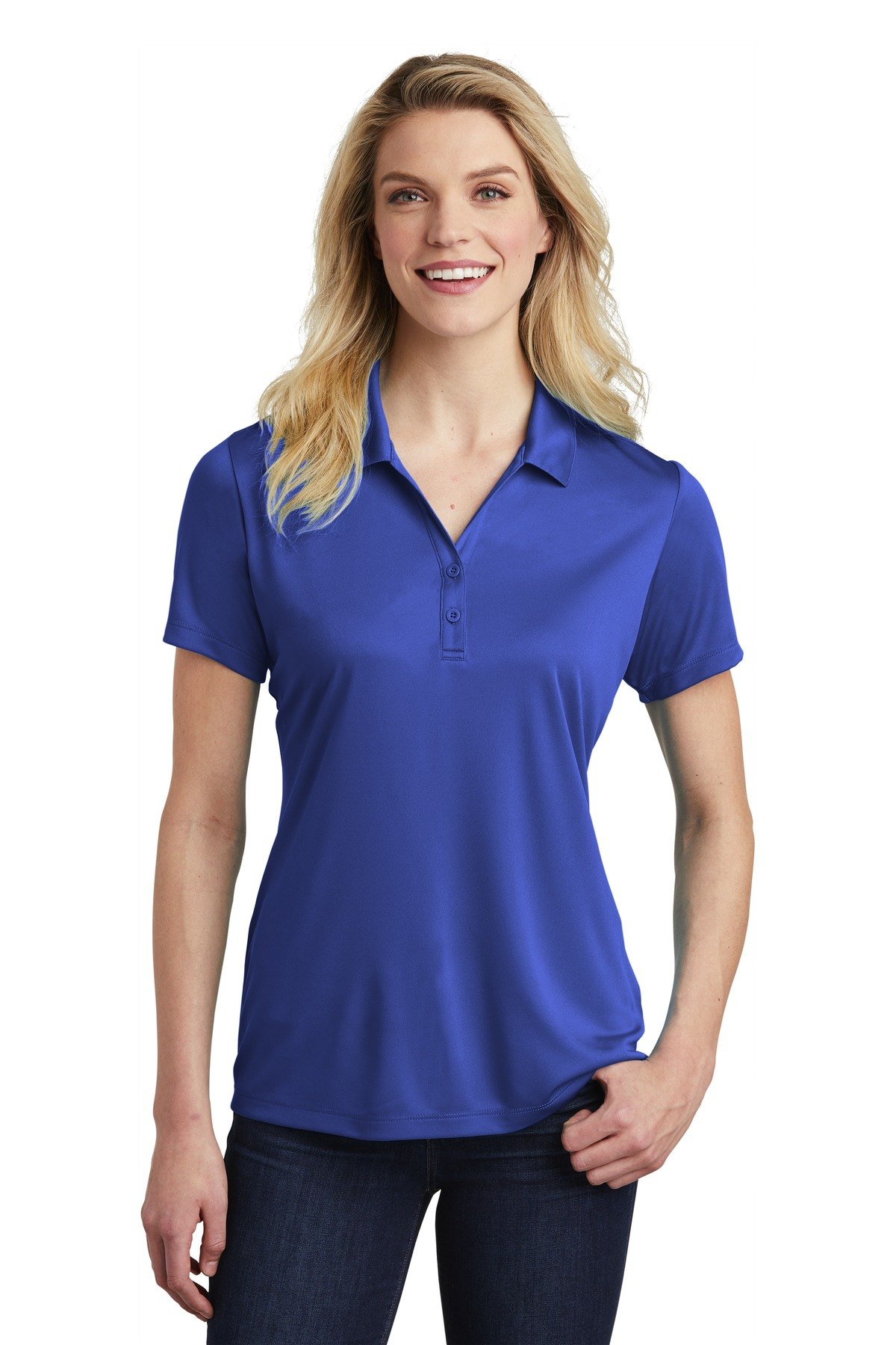 Sport-Tek  ®  Ladies PosiCharge  ®  Competitor  ™  Polo. LST550 - True Royal