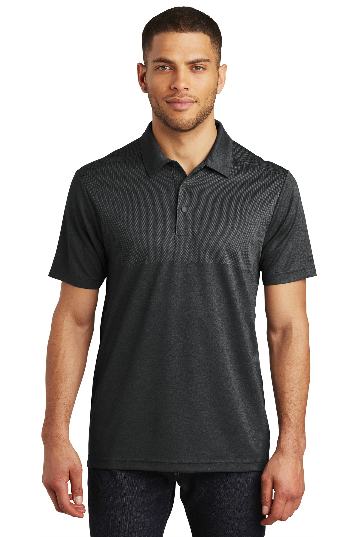 OGIO  ®  Surge Polo. OG137 - Blacktop Heather