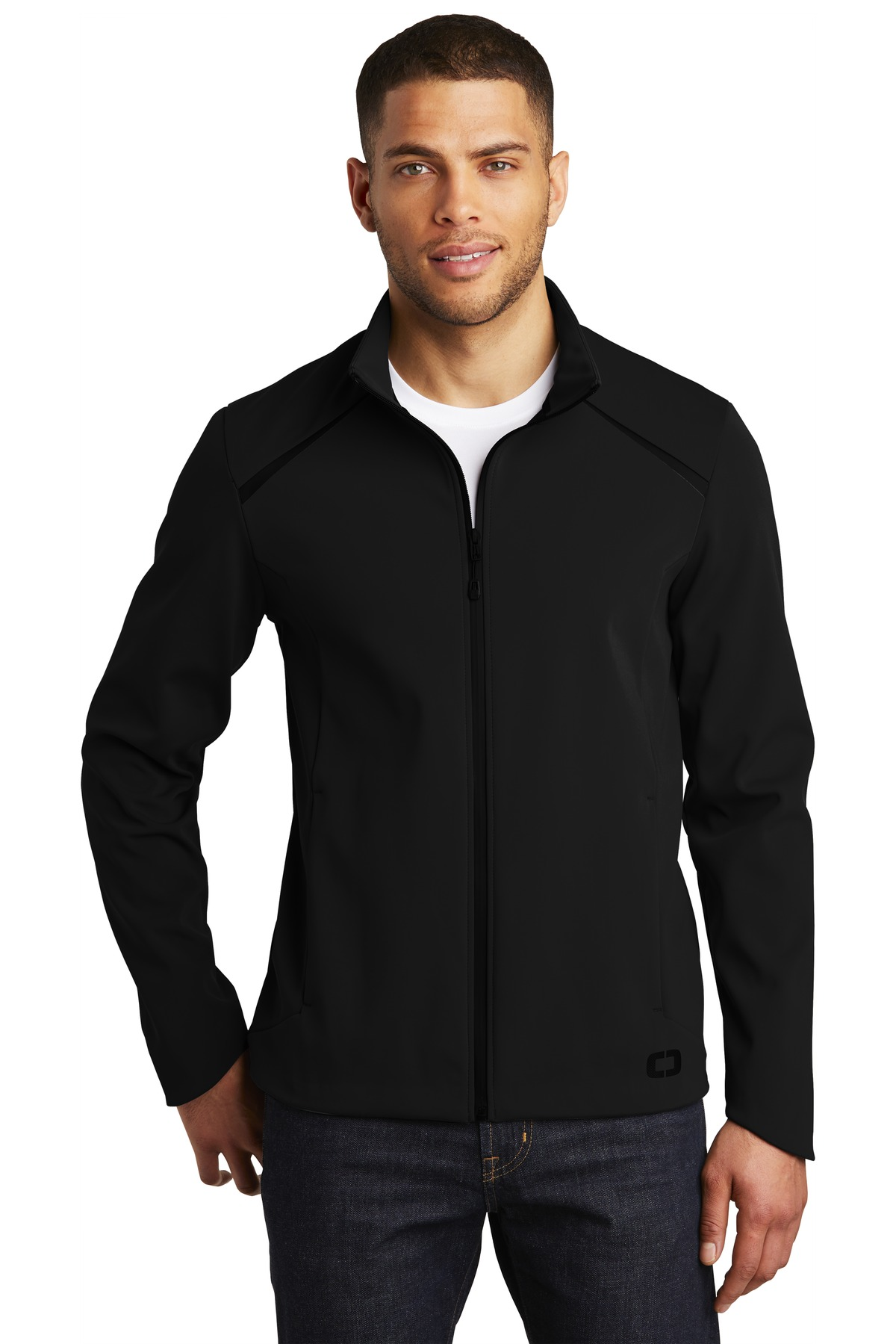 OGIO  ®  Exaction Soft Shell Jacket. OG725 - Blacktop