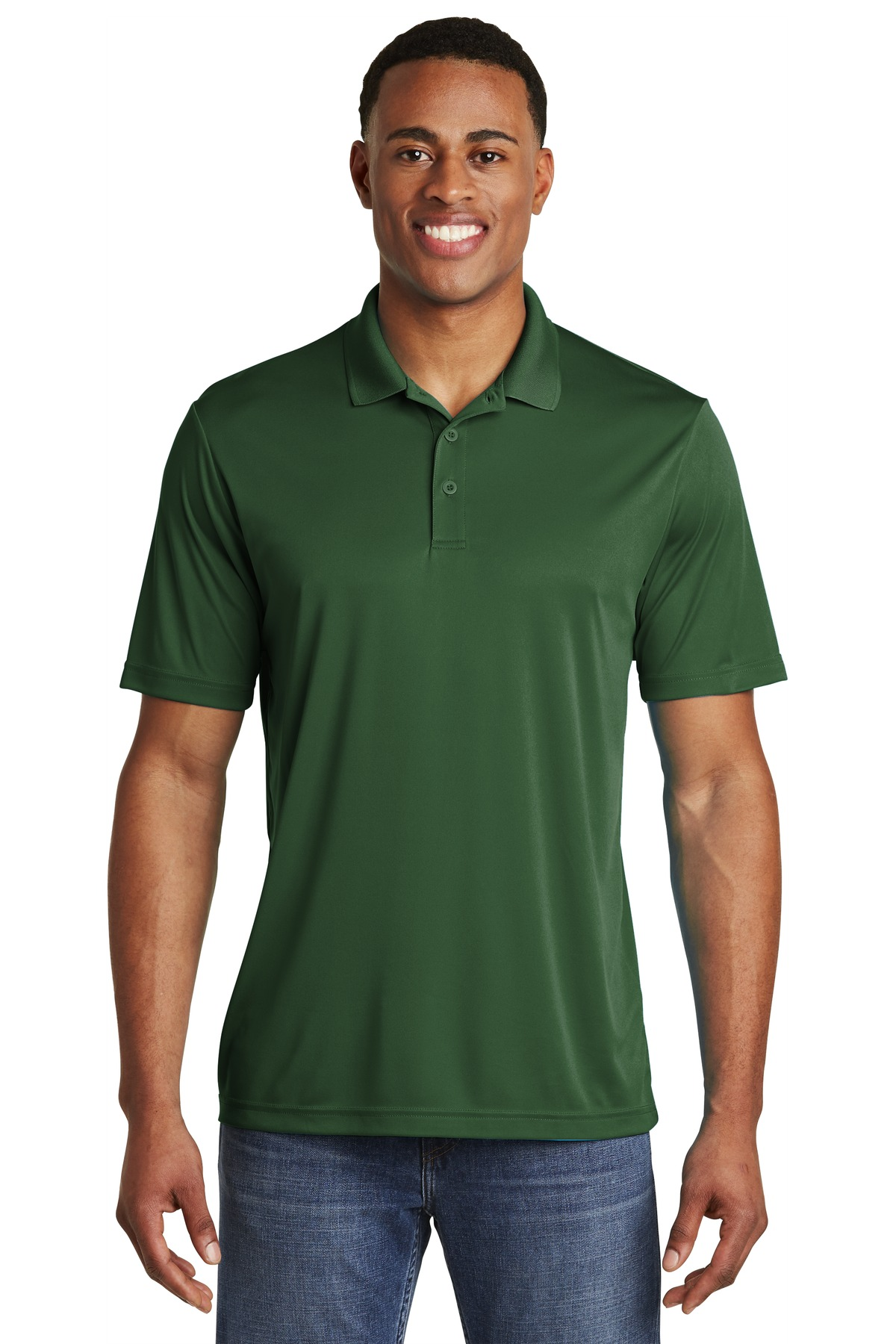 Sport-Tek  ®  PosiCharge  ®  Competitor  ™  Polo. ST550 - Forest Green