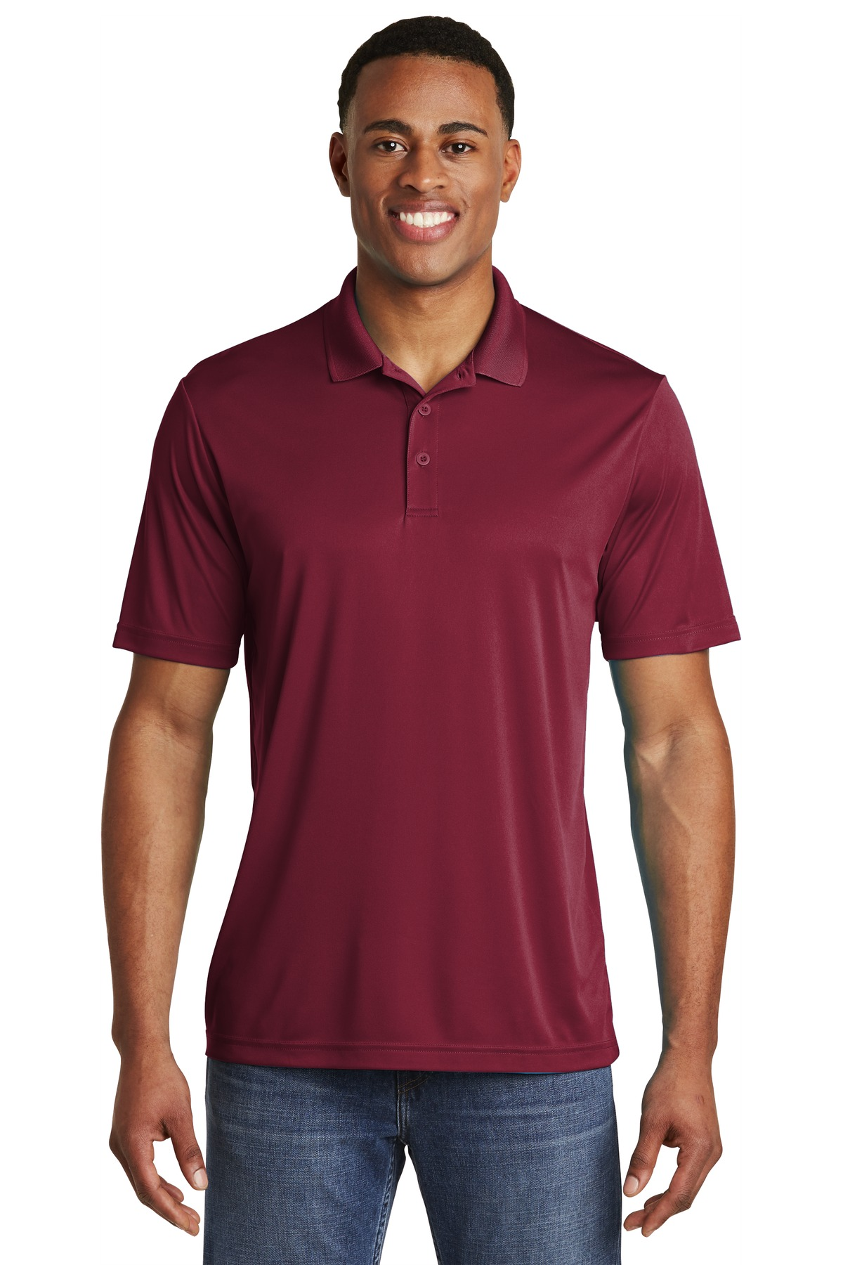 Sport-Tek  ®  PosiCharge  ®  Competitor  ™  Polo. ST550 - Maroon