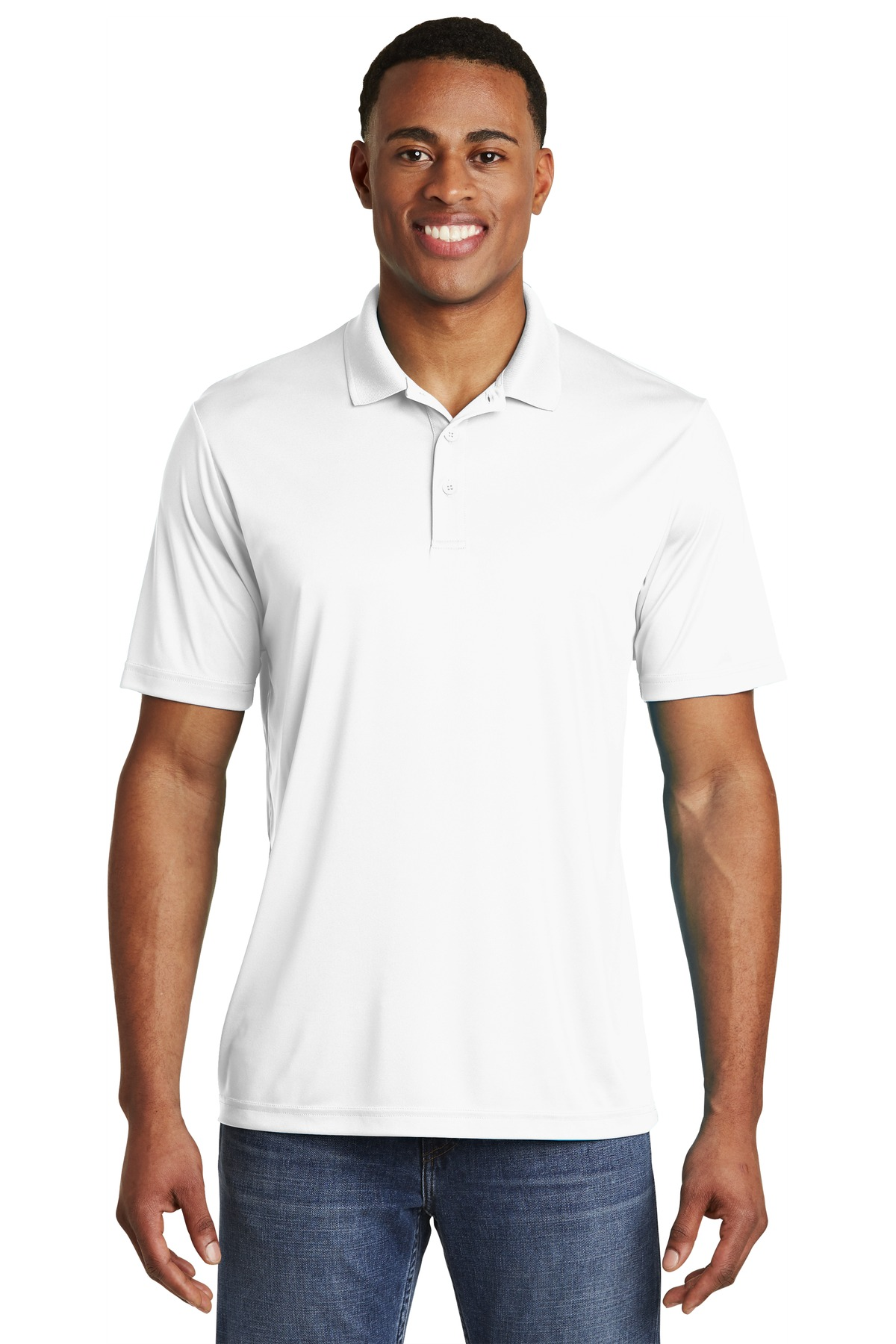 Sport-Tek  ®  PosiCharge  ®  Competitor  ™  Polo. ST550 - White