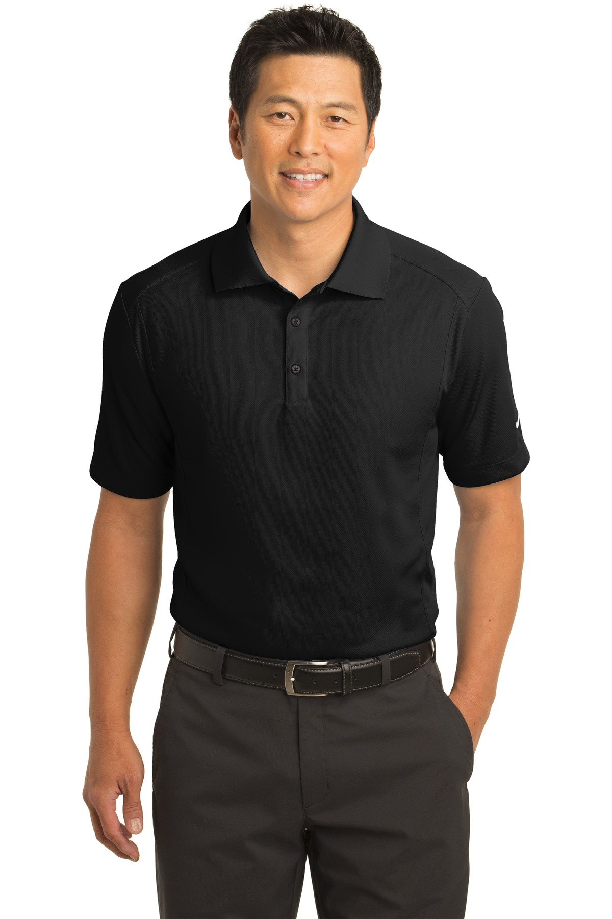 Nike Dri-FIT Classic Polo.  267020 - Black