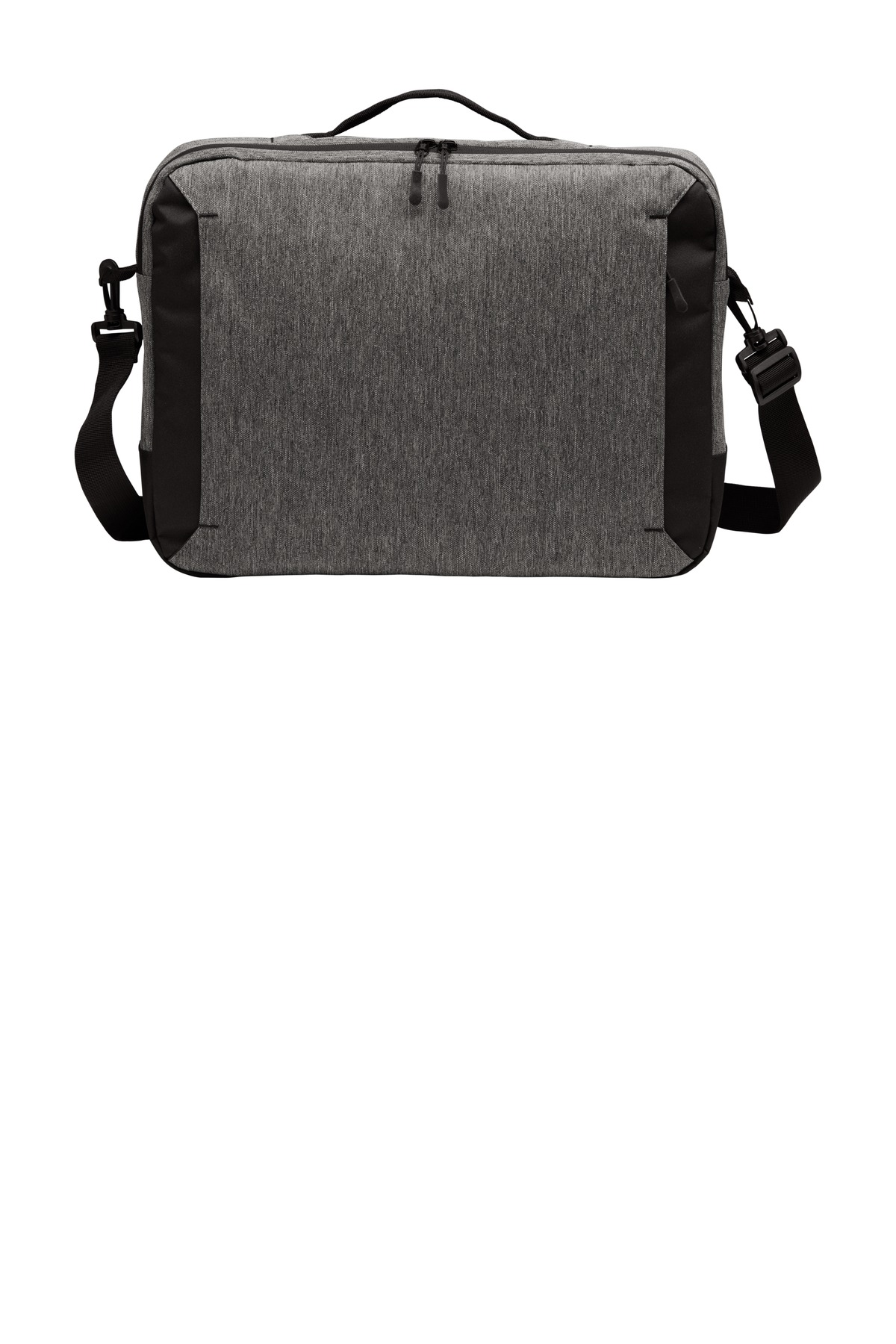 Port Authority  ®  Vector Briefcase. BG309 - Grey Heather