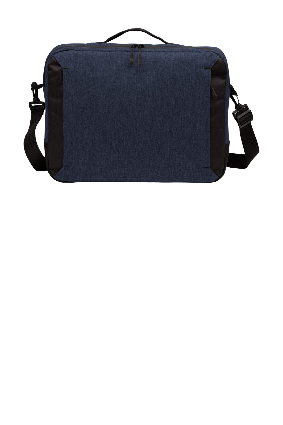 Port Authority  ®  Vector Briefcase. BG309 - Navy Heather