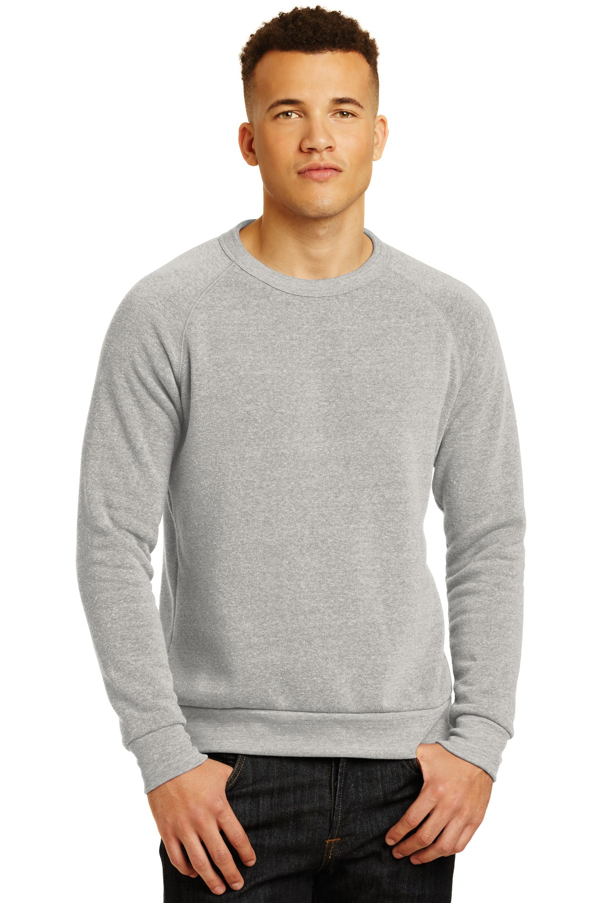 Alternative Champ Eco ™ -Fleece Sweatshirt. AA9575 - Eco Oatmeal Grey