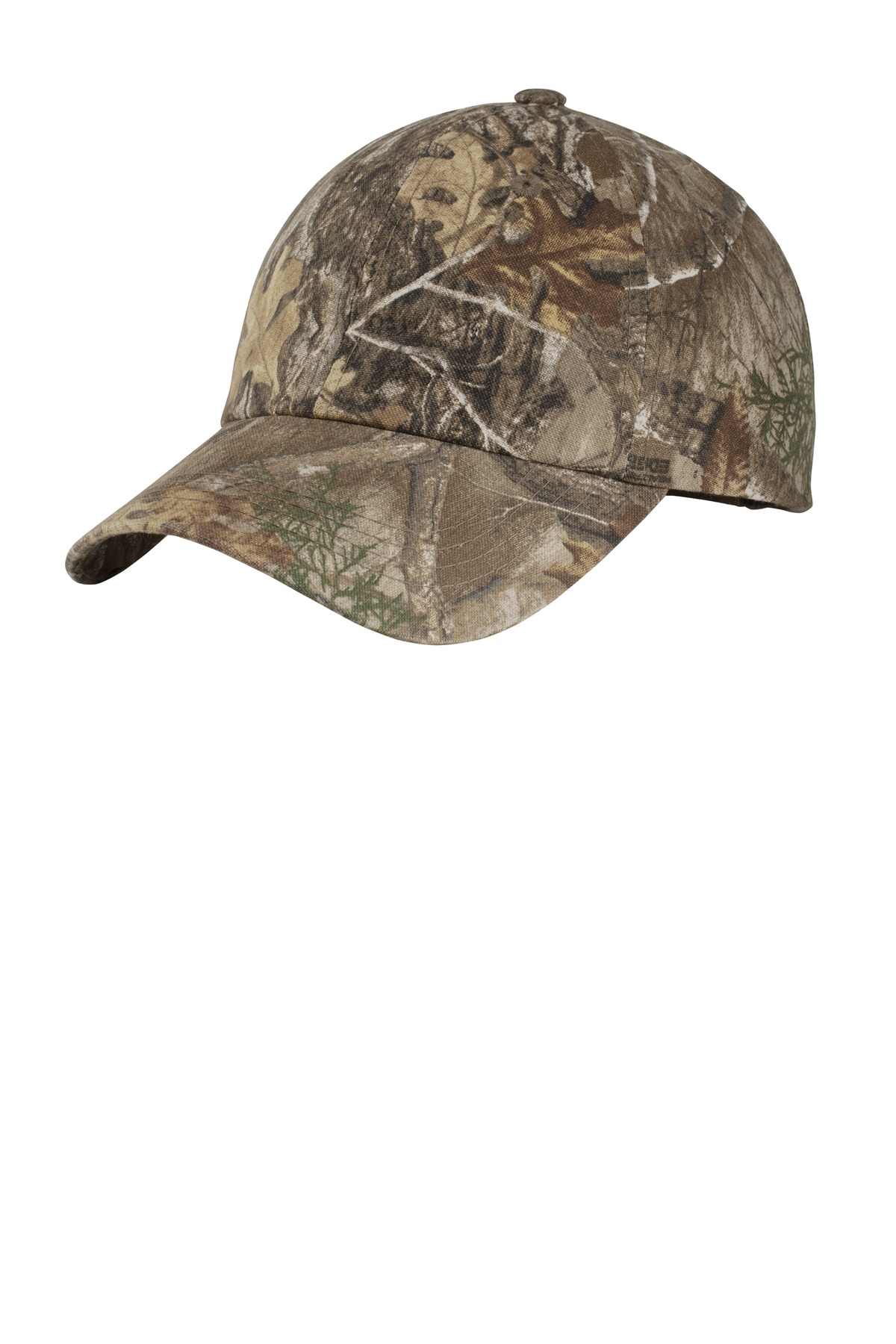 Port Authority ®  Pro Camouflage Series Garment-Washed Cap.  C871 - Realtree Edge