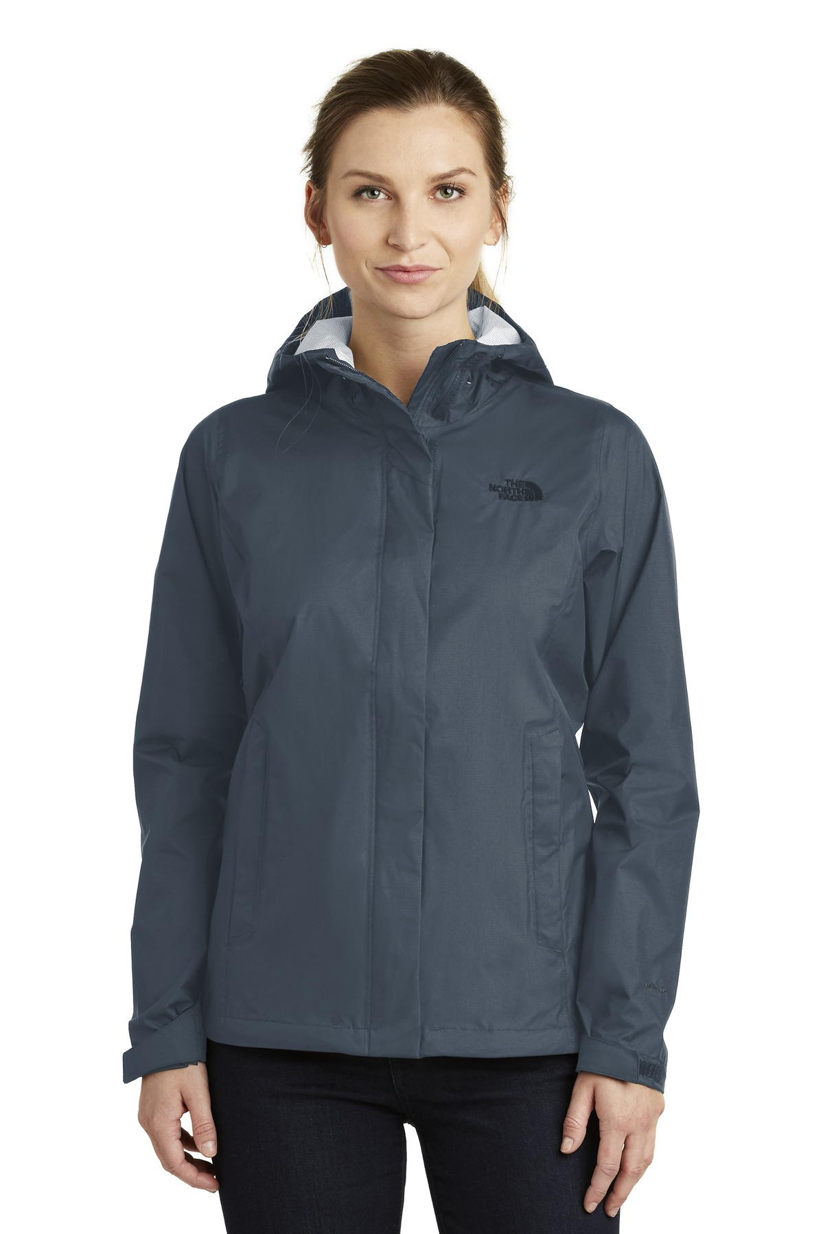 The North Face  ®  Ladies DryVent ™  Rain Jacket. NF0A3LH5 - Shady Blue