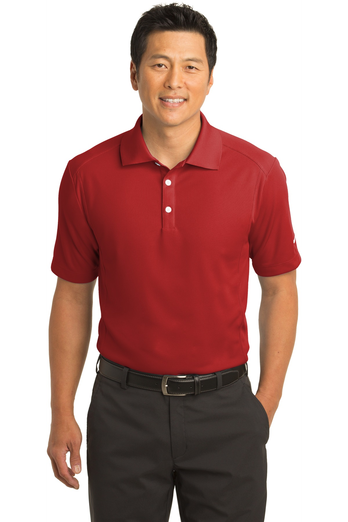 Nike Dri-FIT Classic Polo.  267020 - Varsity Red