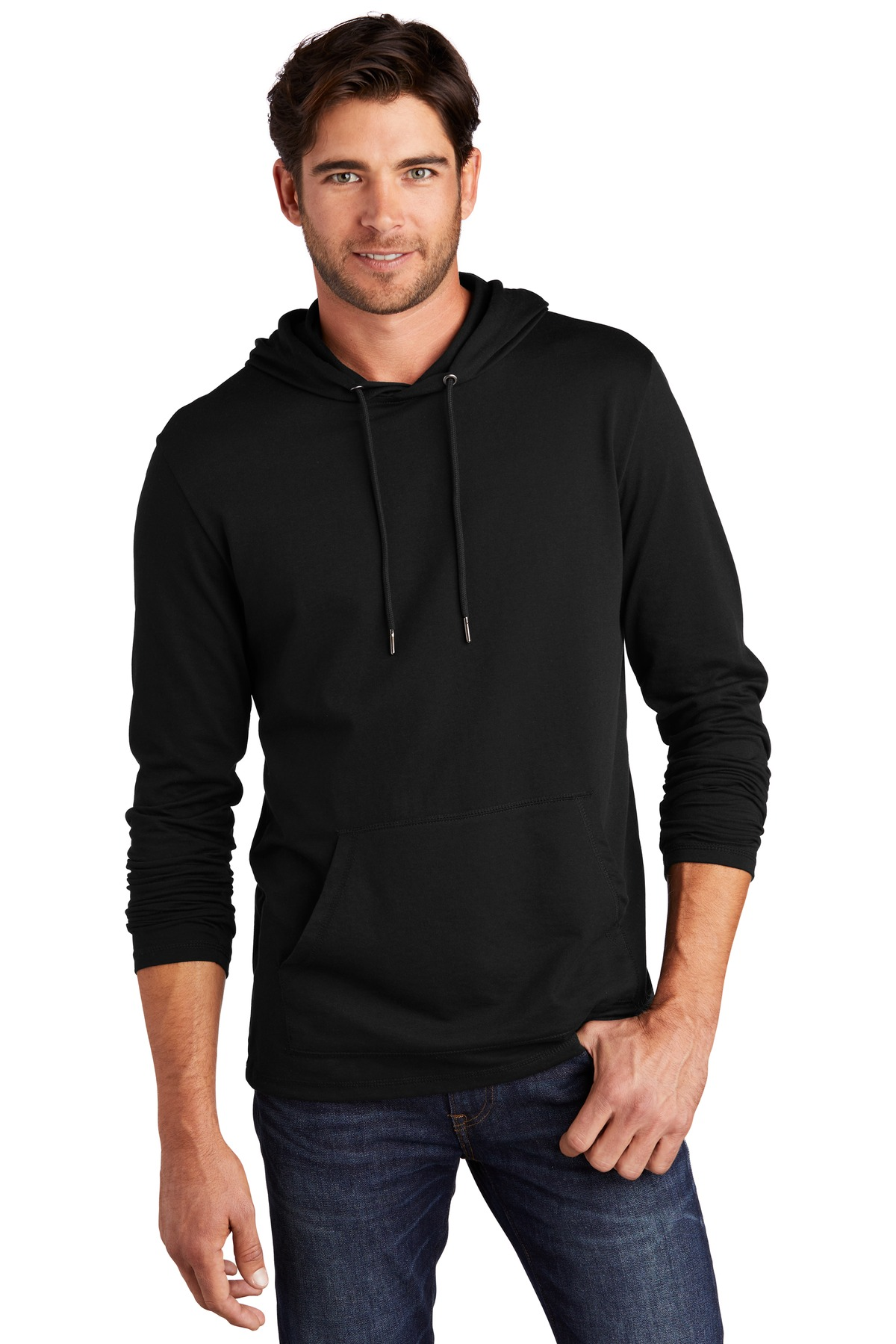 District  ®  Featherweight French Terry  ™  Hoodie DT571 - Black