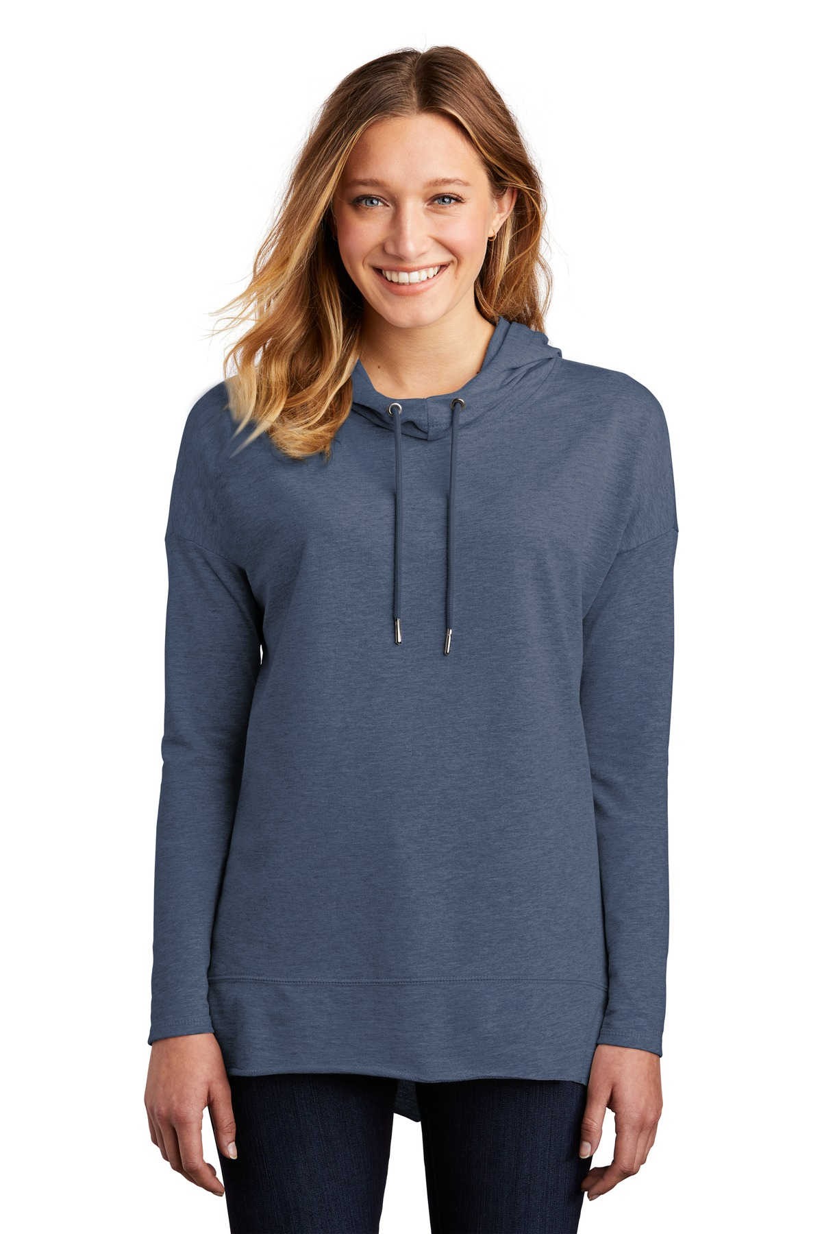 District Women''s Featherweight French Terry Hoodie DT671