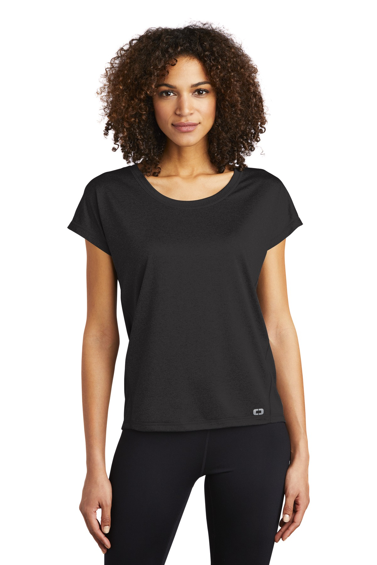 OGIO  ®  ENDURANCE Ladies Pulse Dolman Tee LOE324 - Blacktop