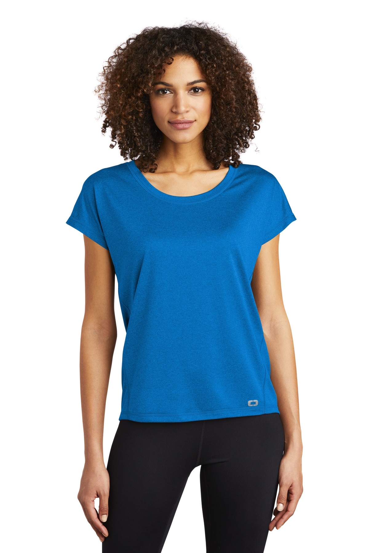 OGIO  ®  ENDURANCE Ladies Pulse Dolman Tee LOE324 - Electric Blue
