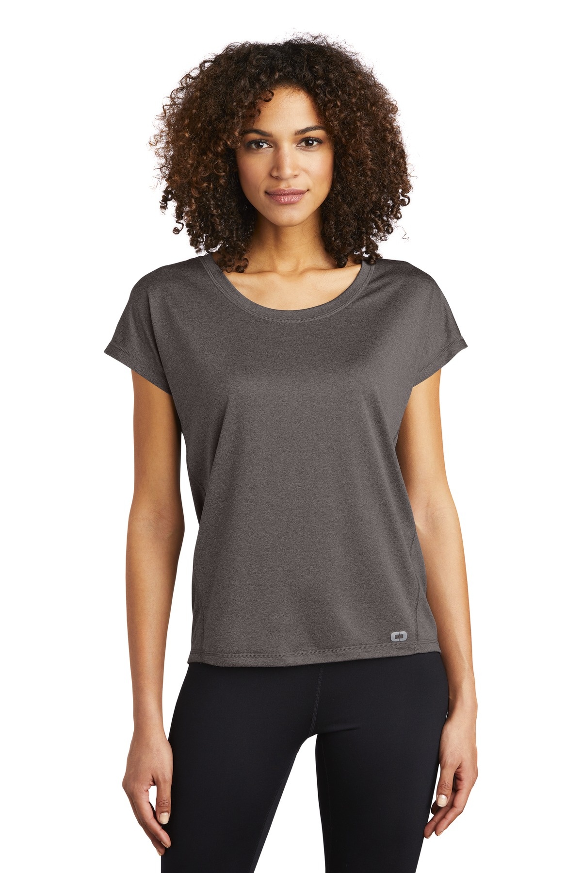 OGIO  ®  ENDURANCE Ladies Pulse Dolman Tee LOE324 - Gear Grey