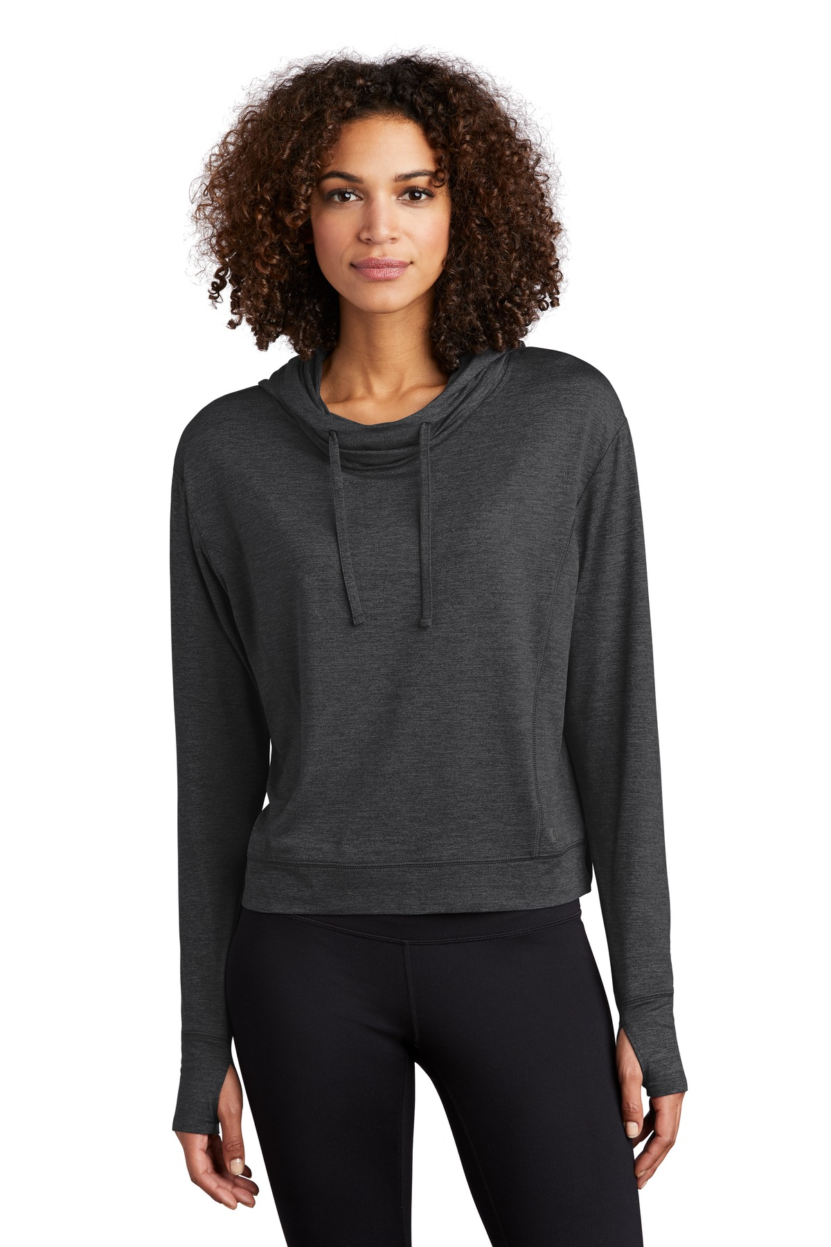 OGIO  ®  ENDURANCE Ladies Force Hoodie LOE342 - Blacktop Heather
