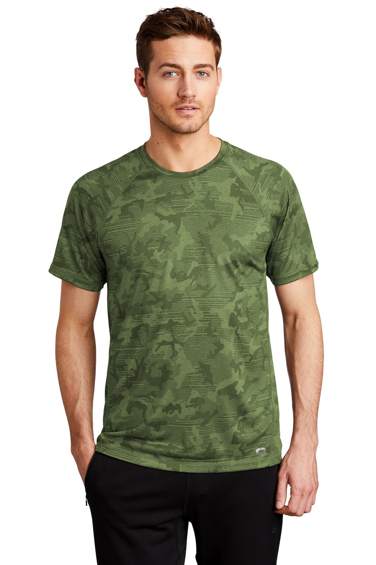 OGIO  ®  ENDURANCE Pulse Phantom Tee OE323 - Grit Green Camo