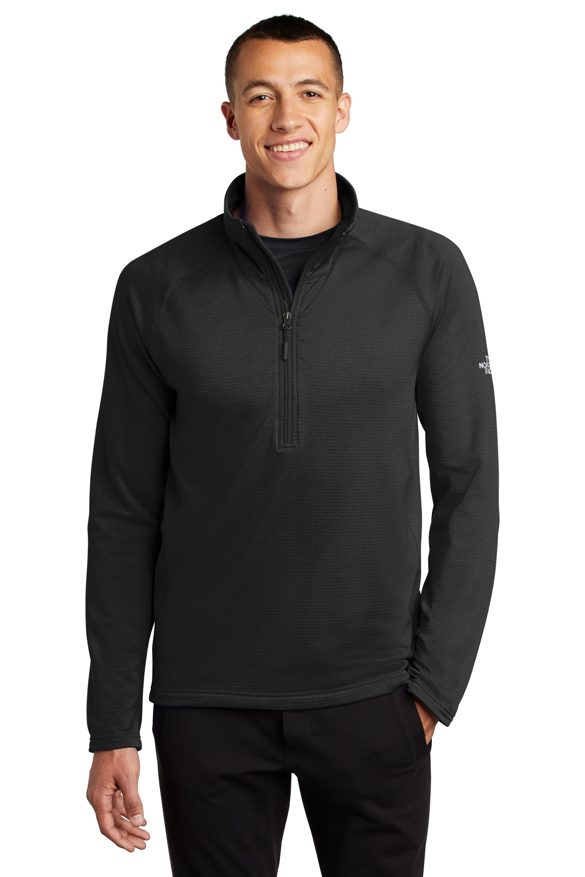 The North Face  ®  Mountain Peaks 1/4-Zip Fleece NF0A47FB - TNF Black