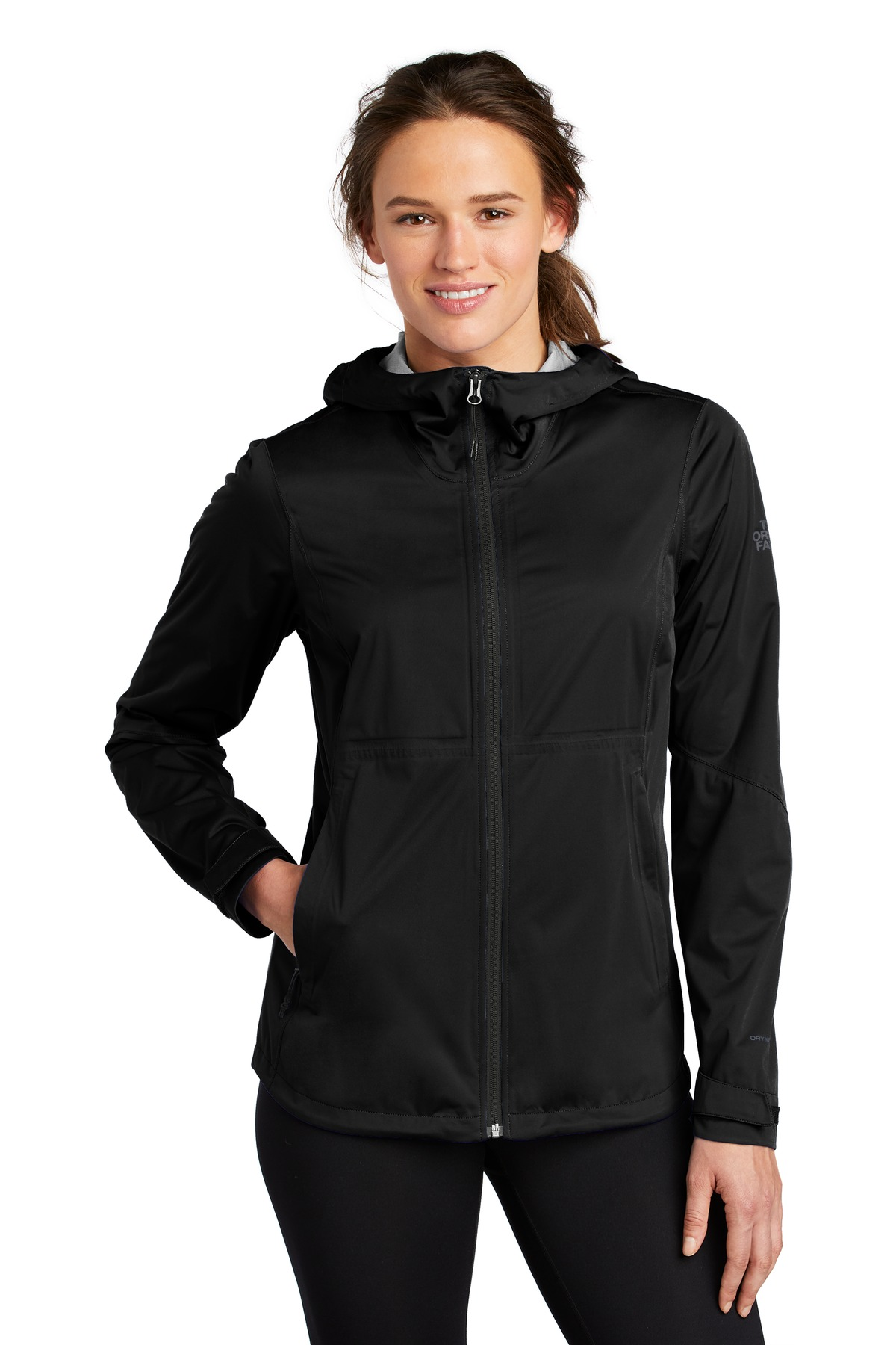 The North Face  ®  Ladies All-Weather DryVent  ™  Stretch Jacket NF0A47FH - TNF Black