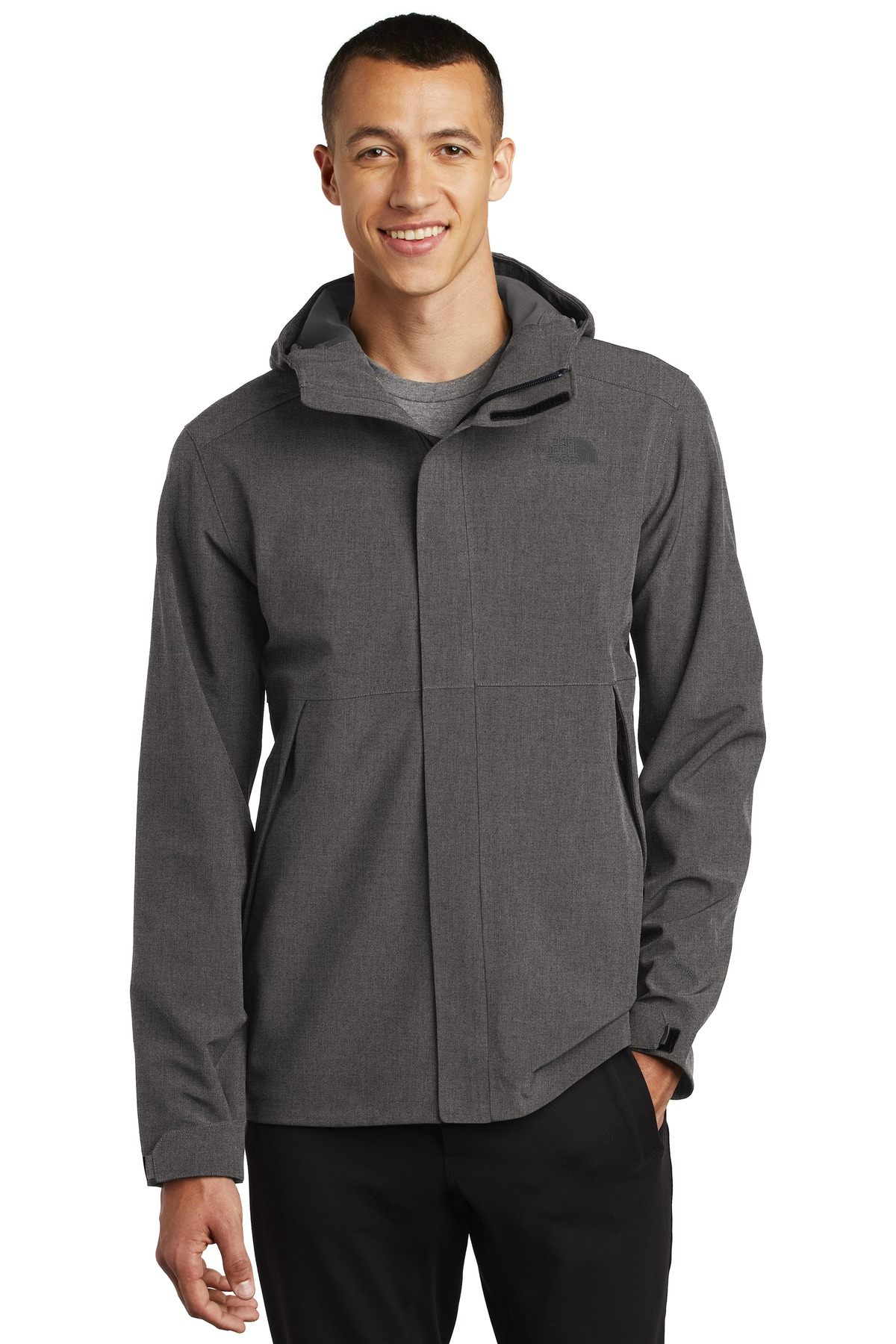 The North Face  ®  Apex DryVent  ™  Jacket NF0A47FI - TNF Dark Grey Heather